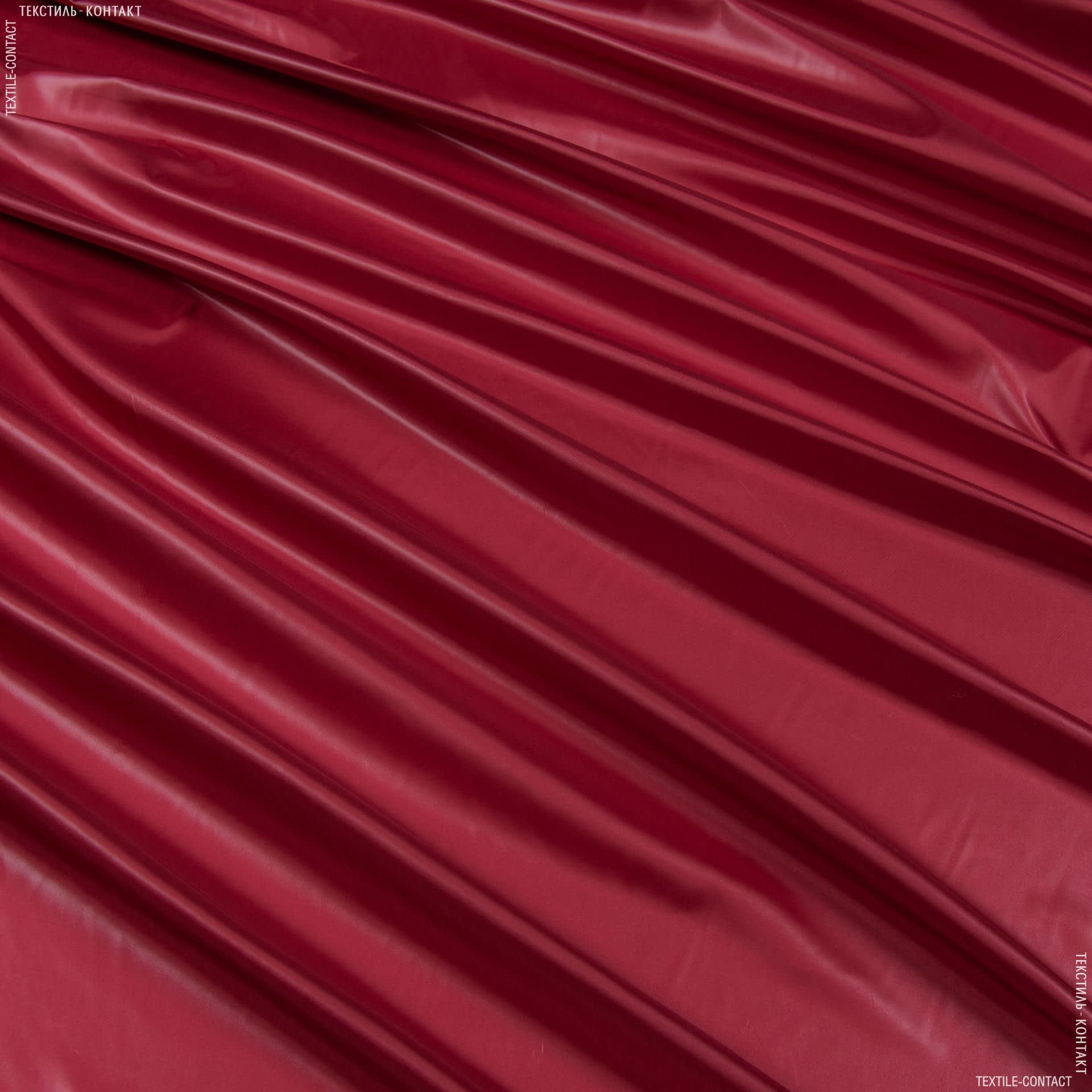 Тканини для верхнього одягу - Плащова рубі лаке червоний