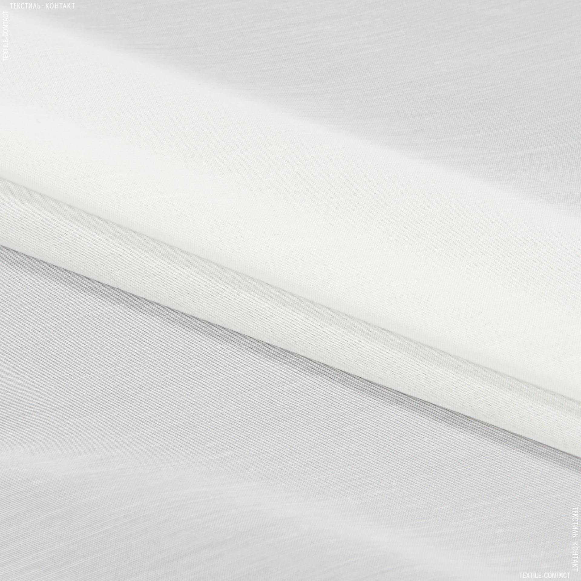 Тканини для драпірування стін і стель - Тюль батист / batist col 3 / слонова кістка