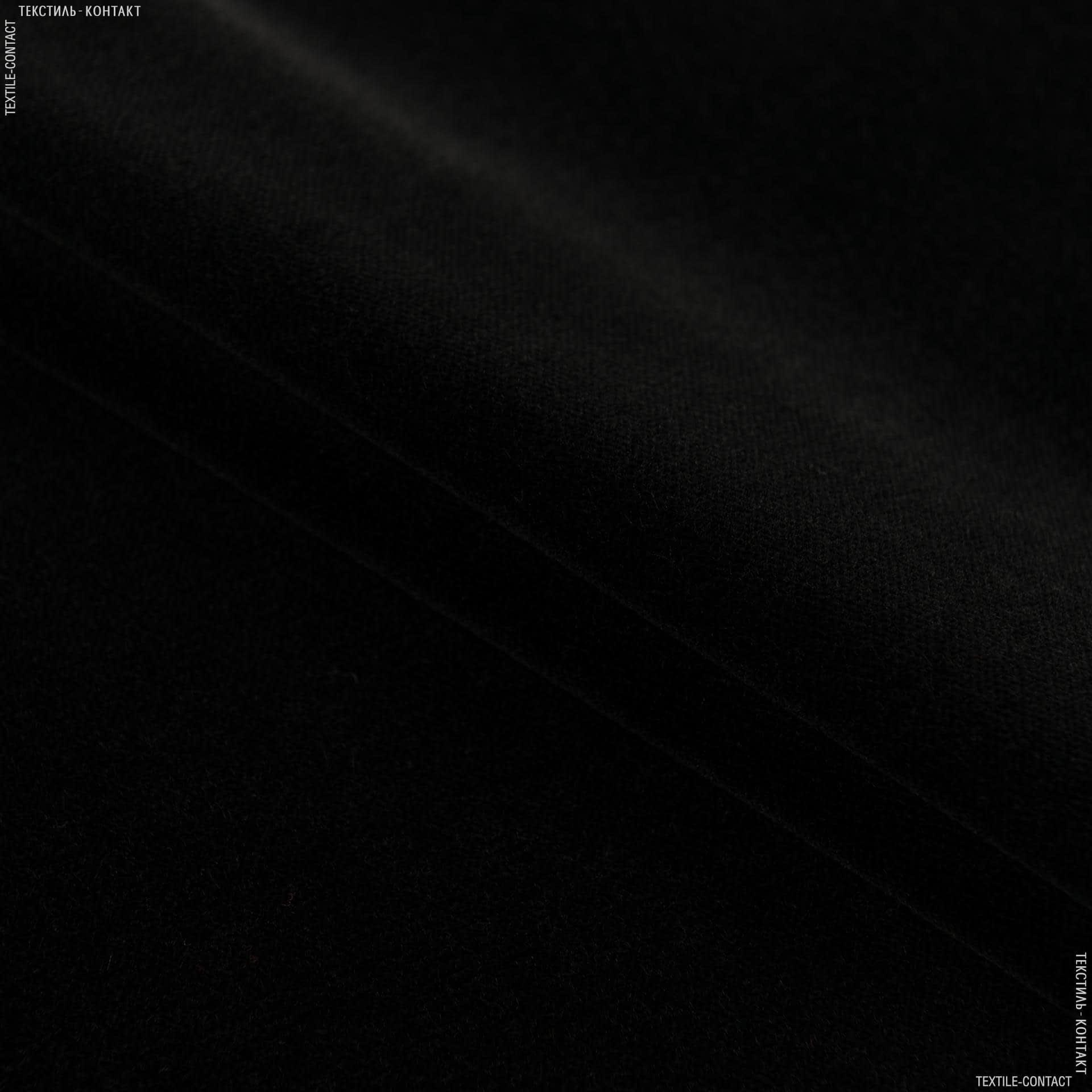 Тканини для меблів - Велюр дербі/derbi чорний сток