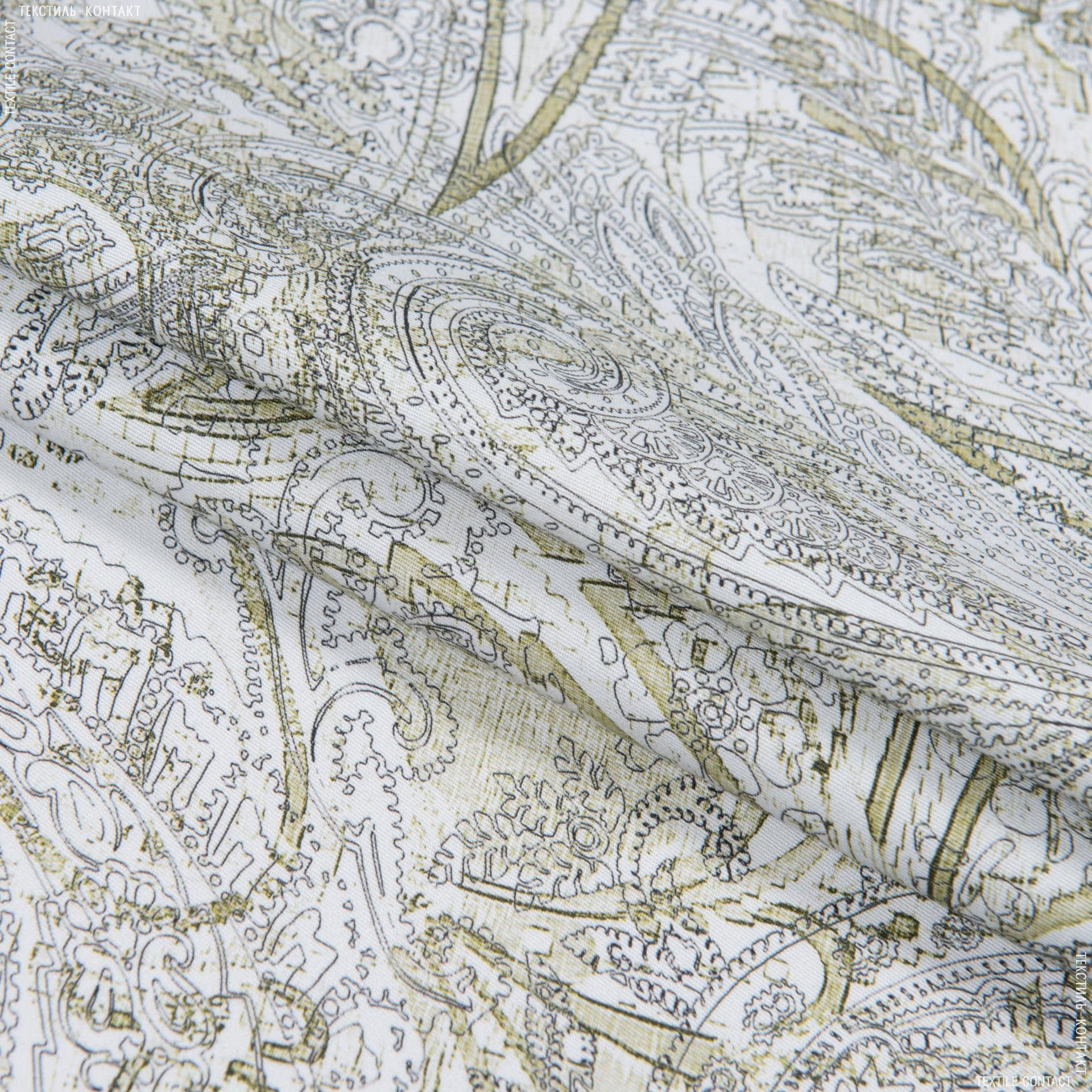 Тканини для костюмів - Котон стрейч принт