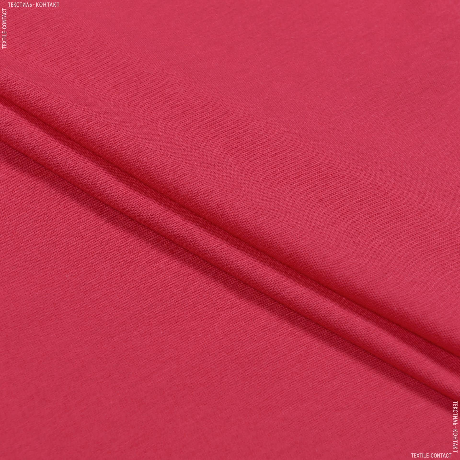 Ткани подкладочная ткань - Трикотаж подкладочный темно-коралловый