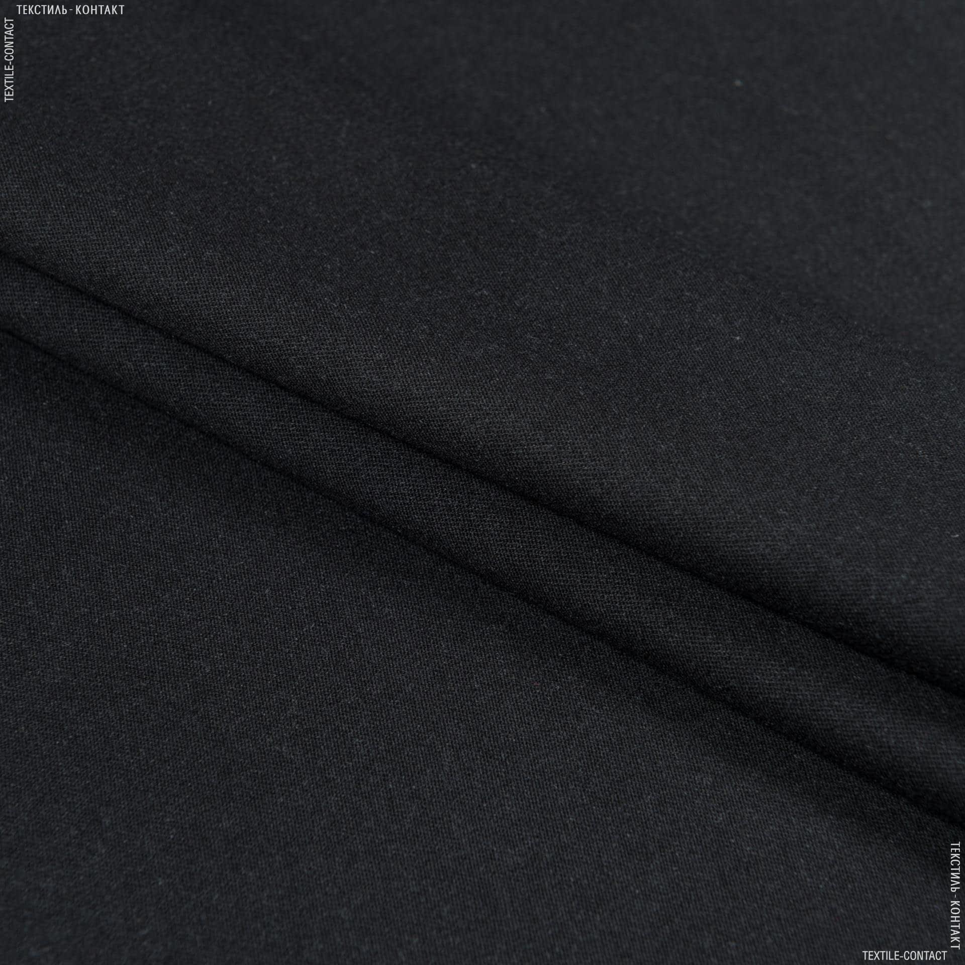Тканини для костюмів - Костюмна чорний графіт