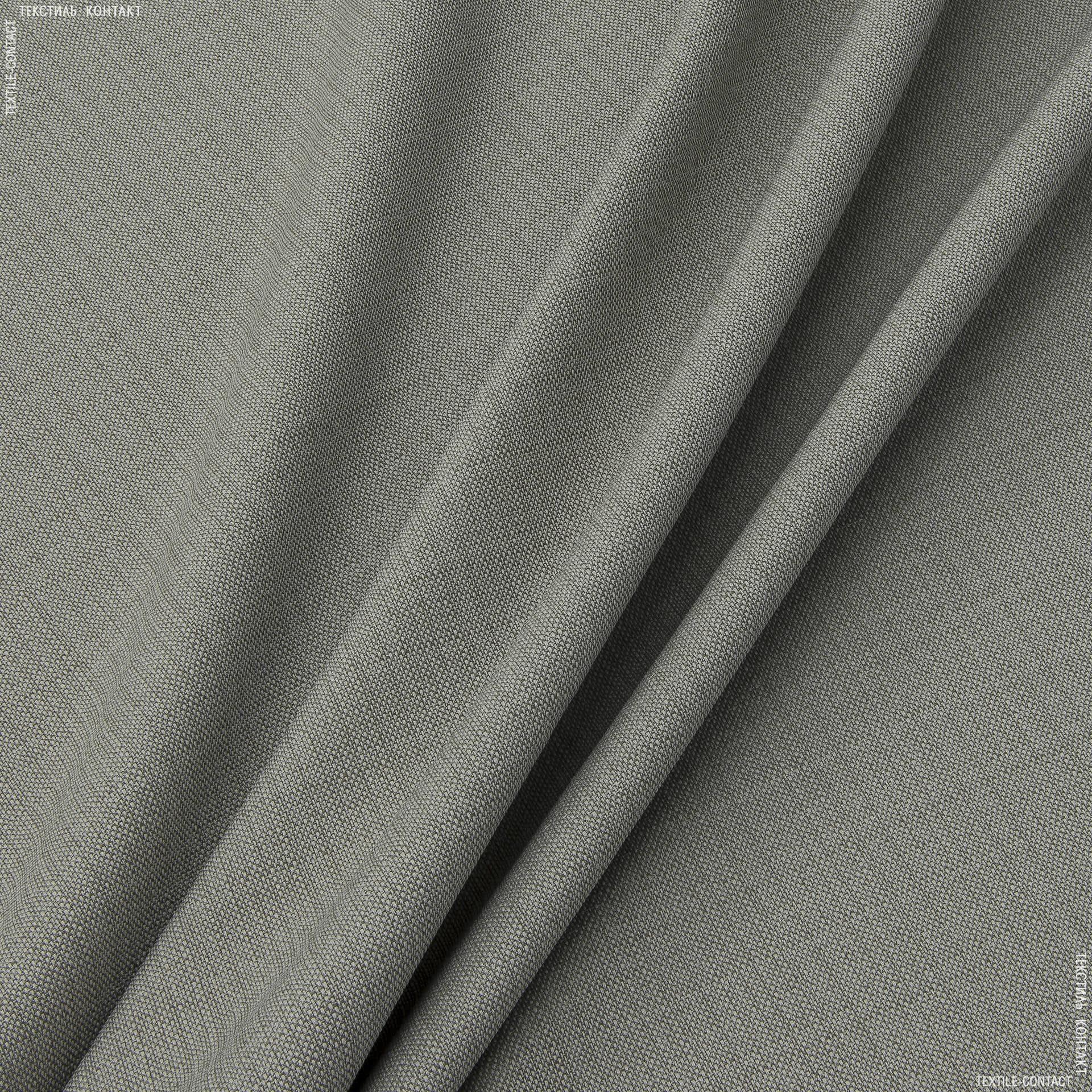 Ткани портьерные ткани - Рогожка зели серо-бежевый
