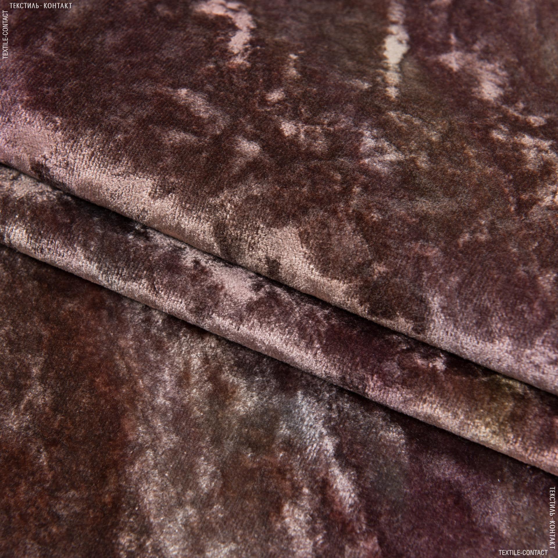 Ткани портьерные ткани - Велюр   эмили/emily  фрез-беж
