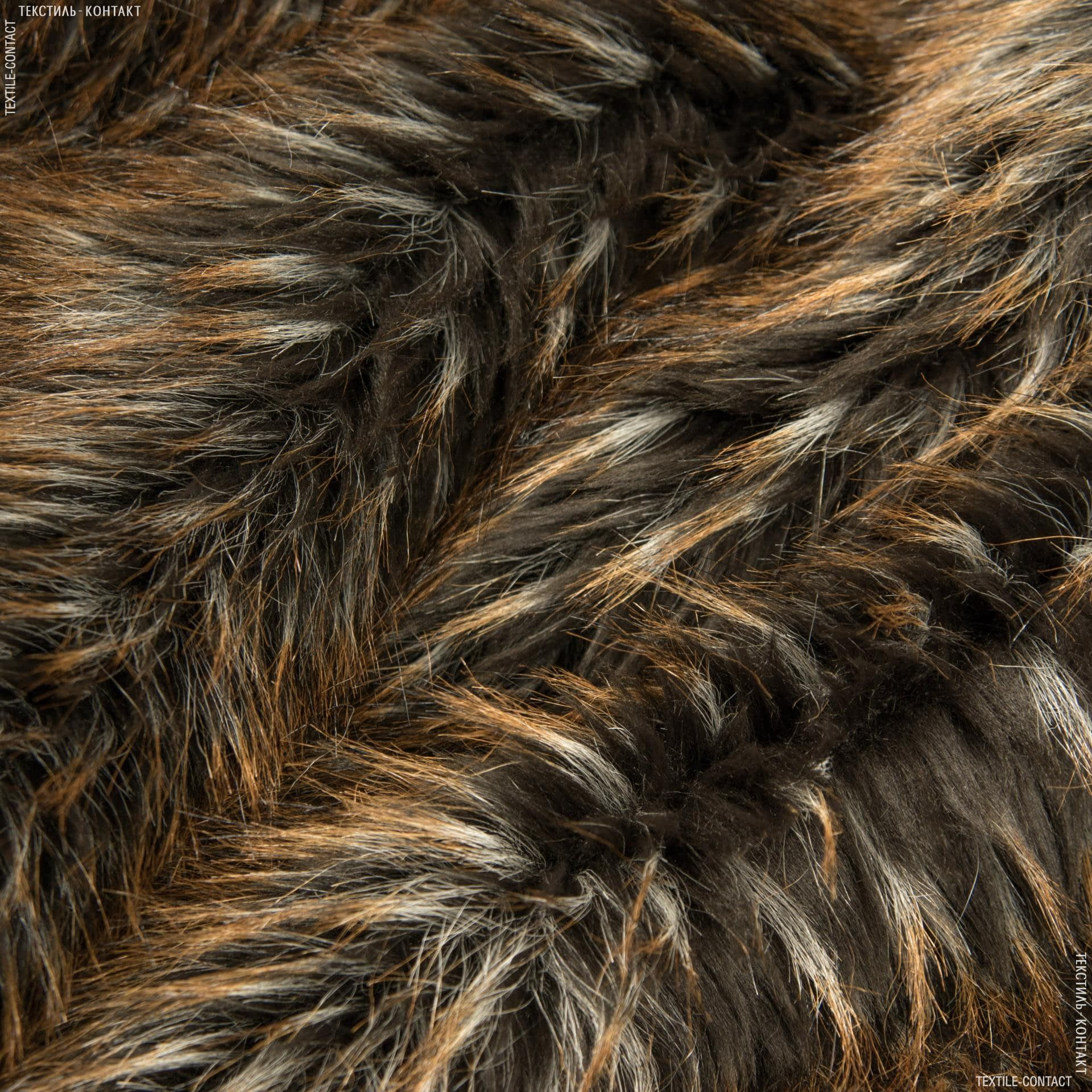 Ткани для верхней одежды - Мех шубный енот