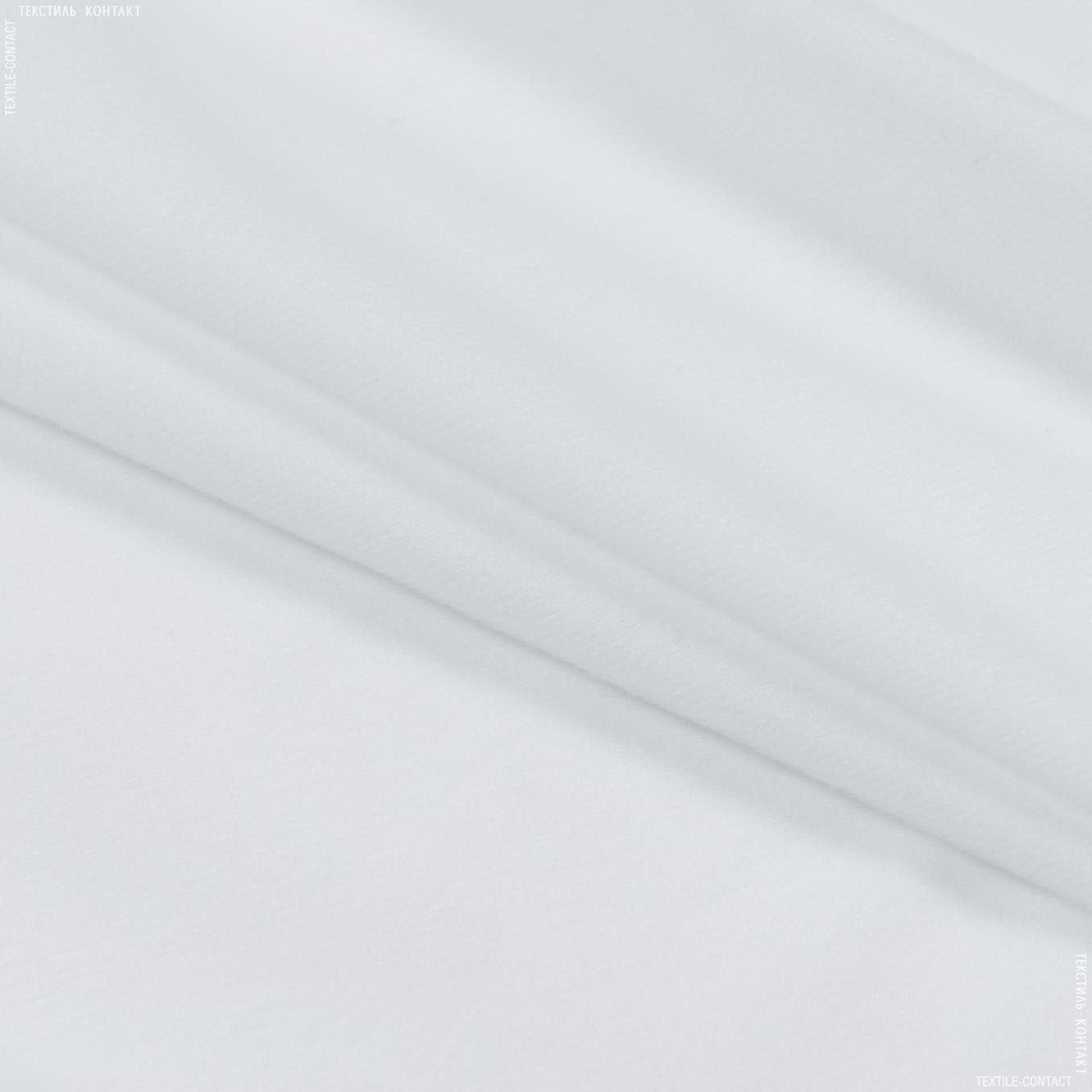 Тканини для м'яких іграшок - Трикотаж-липучка білий