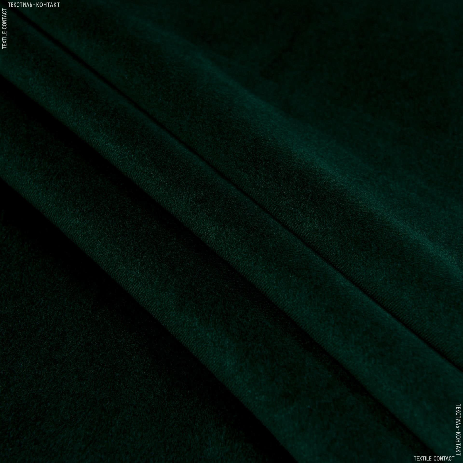 Ткани для брюк - Костюмный бархат темно-зеленый