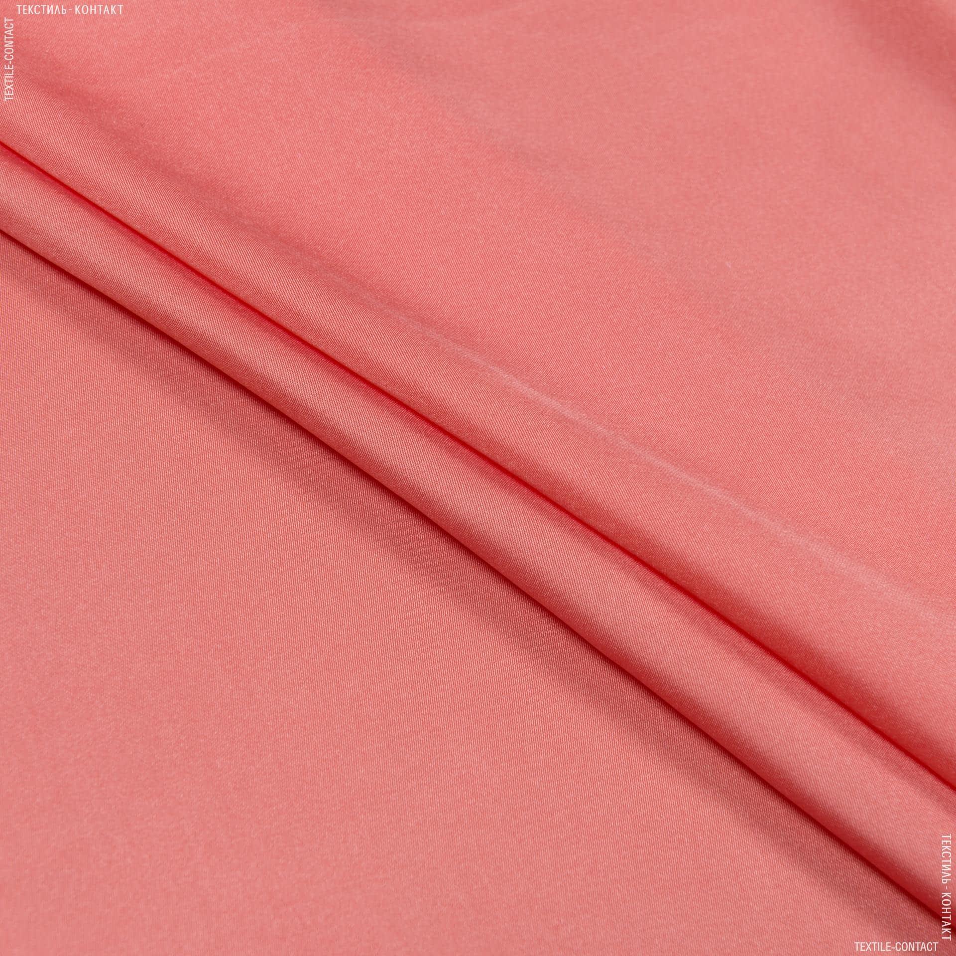 Тканини для хусток та бандан - Шовк штучний темно-абрикосовий