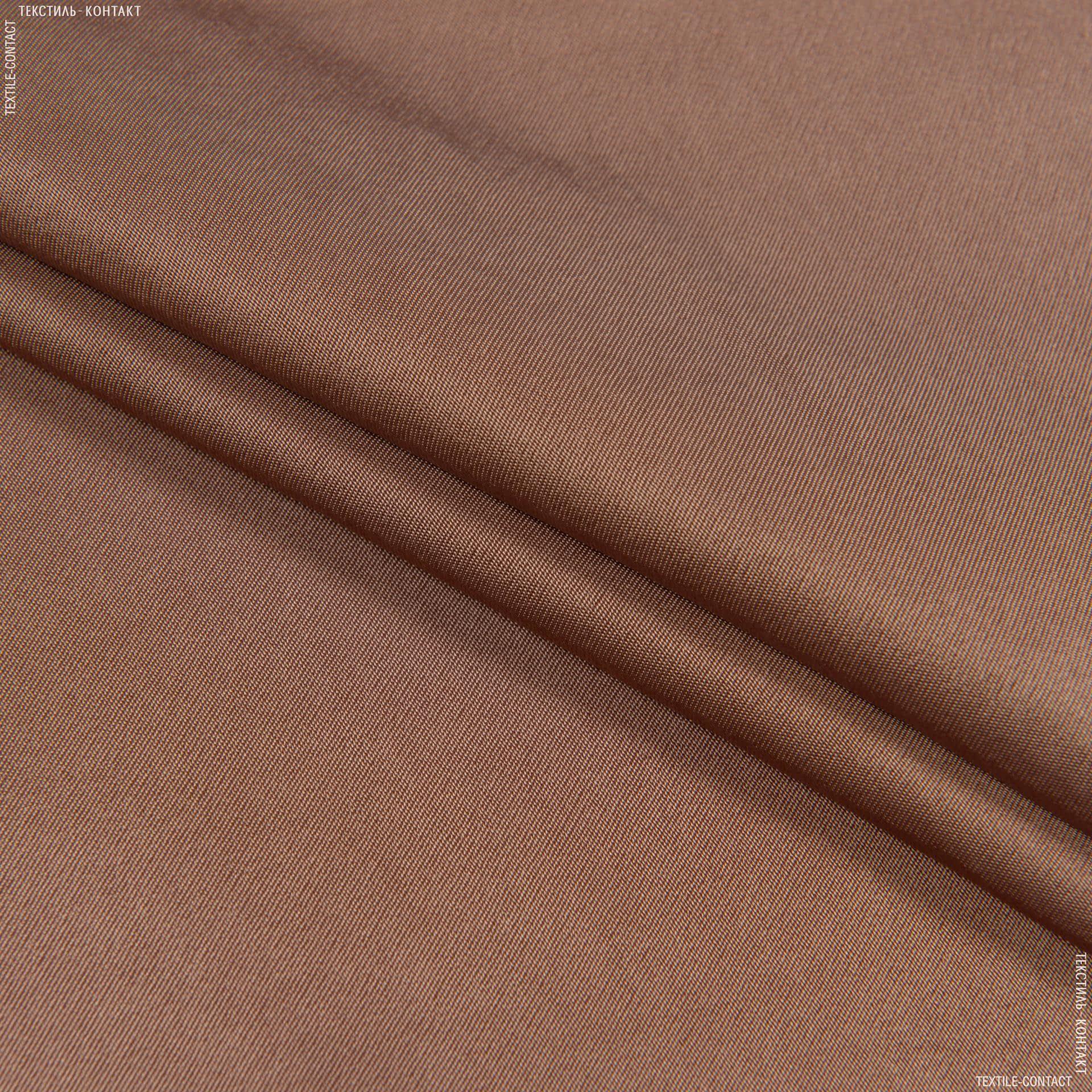 Тканини для костюмів - Платтяний атлас платон бронзовий