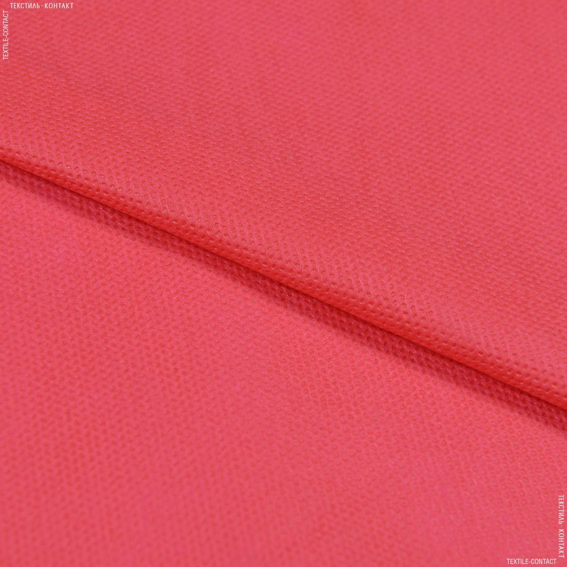 Тканини неткане полотно - Спанбонд  60g червоний