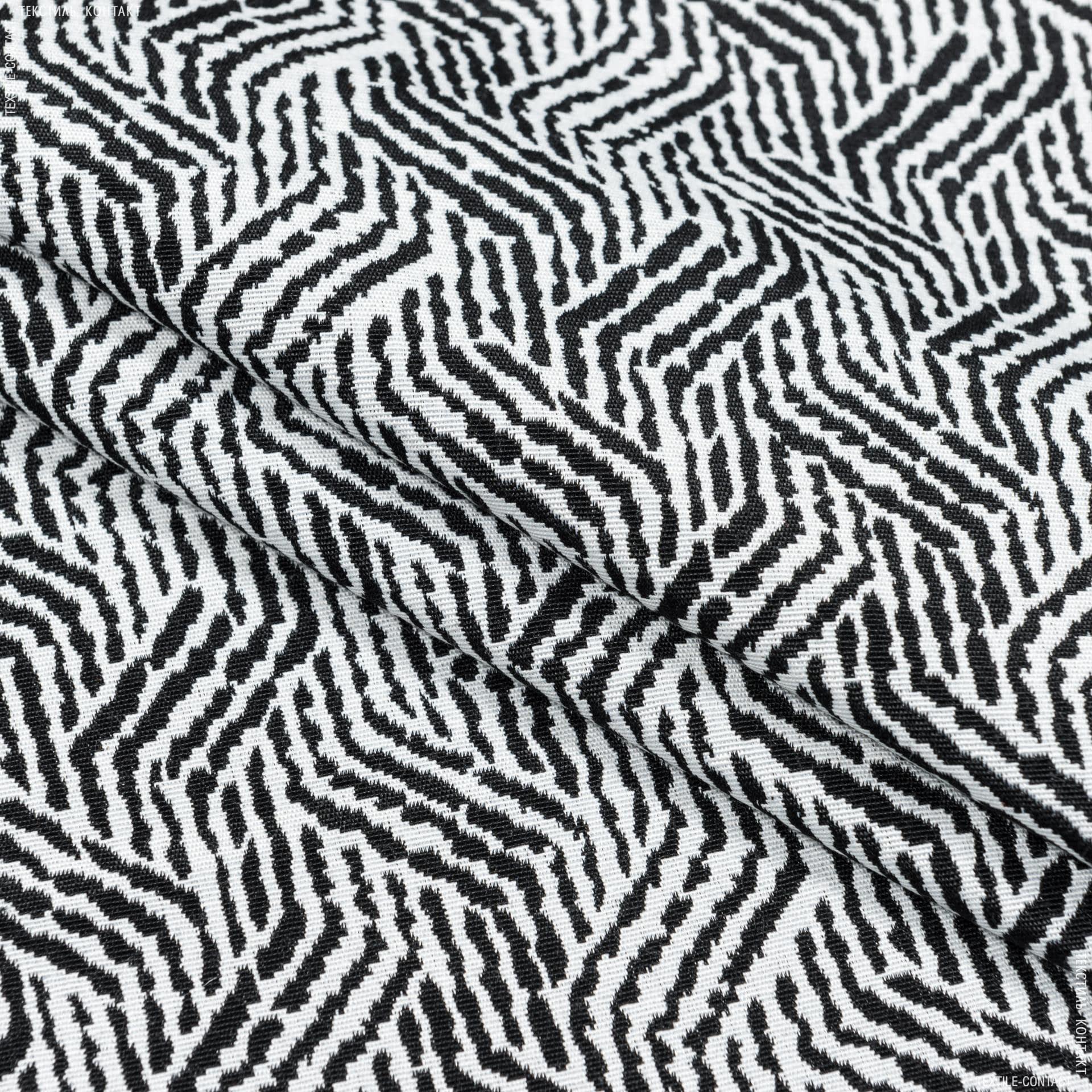Ткани портьерные ткани - Жаккард матти-2/mattie-2 /черный
