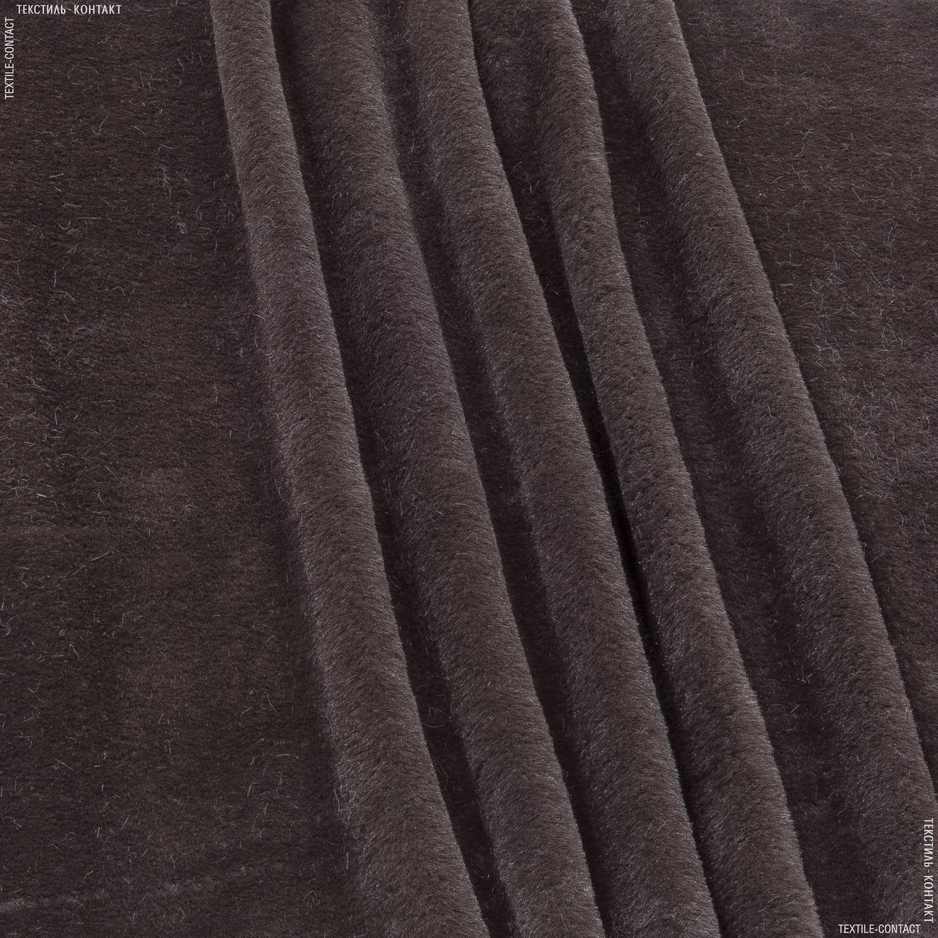 Ткани для верхней одежды - Мех лайт софт коричневый