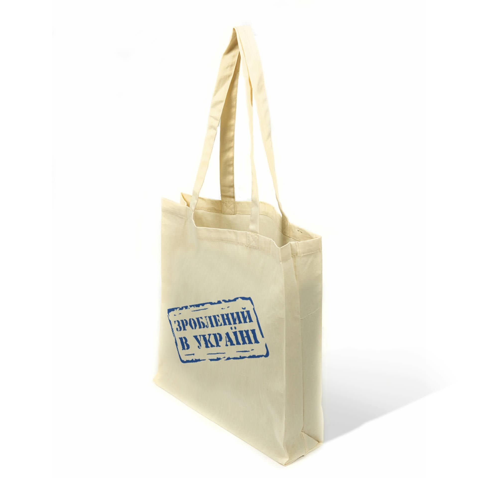 Тканини екосумка - Екосумка  бязь (ручка 70 см)