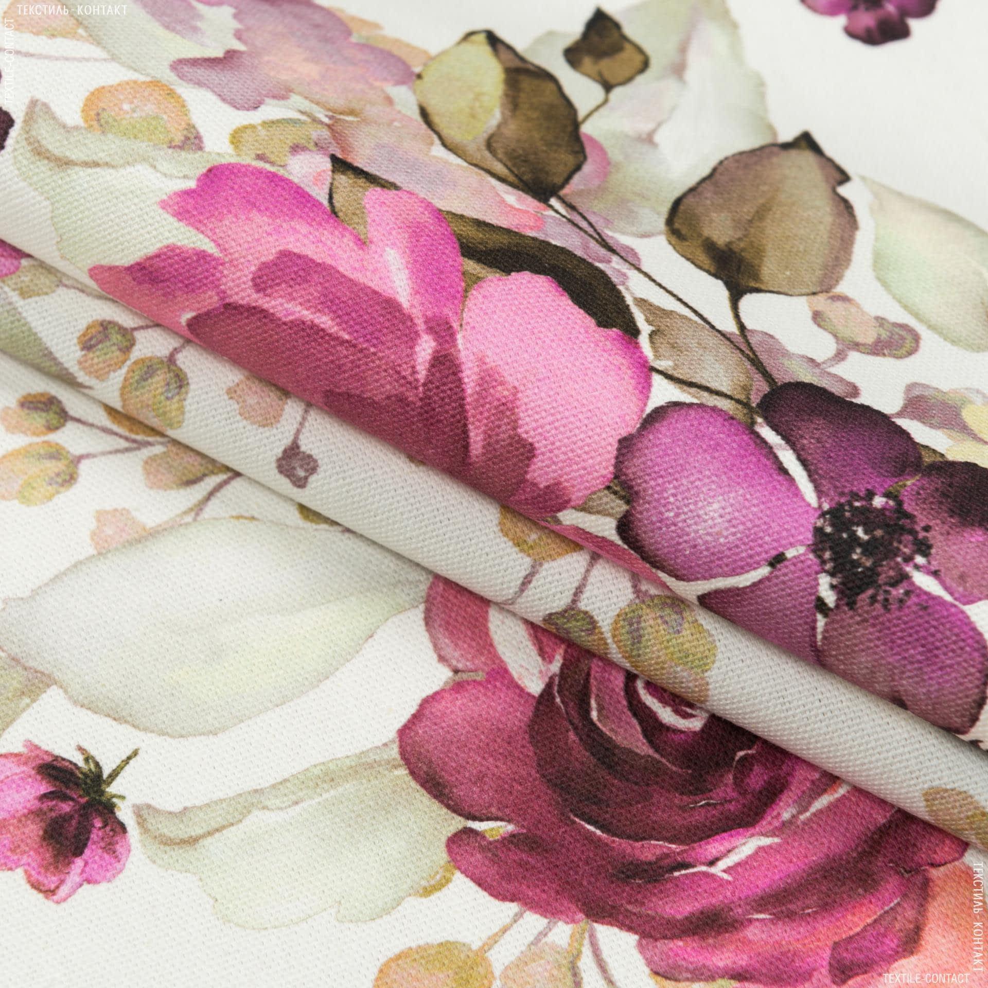 Тканини портьєрні тканини - Декоративна тканина троянди фрез