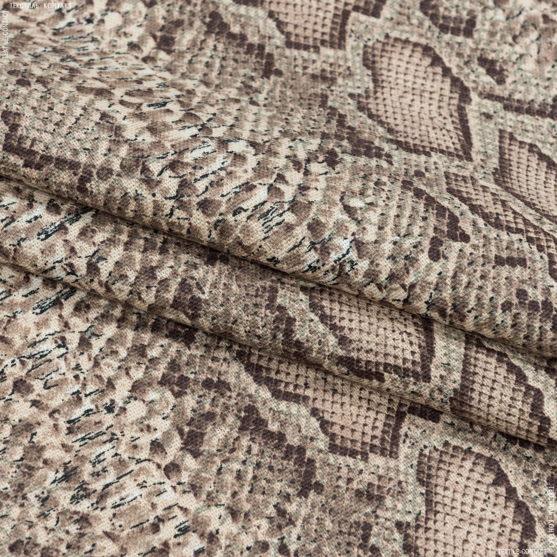 Тканини портьєрні тканини - Декоративна тканина кобра т.беж