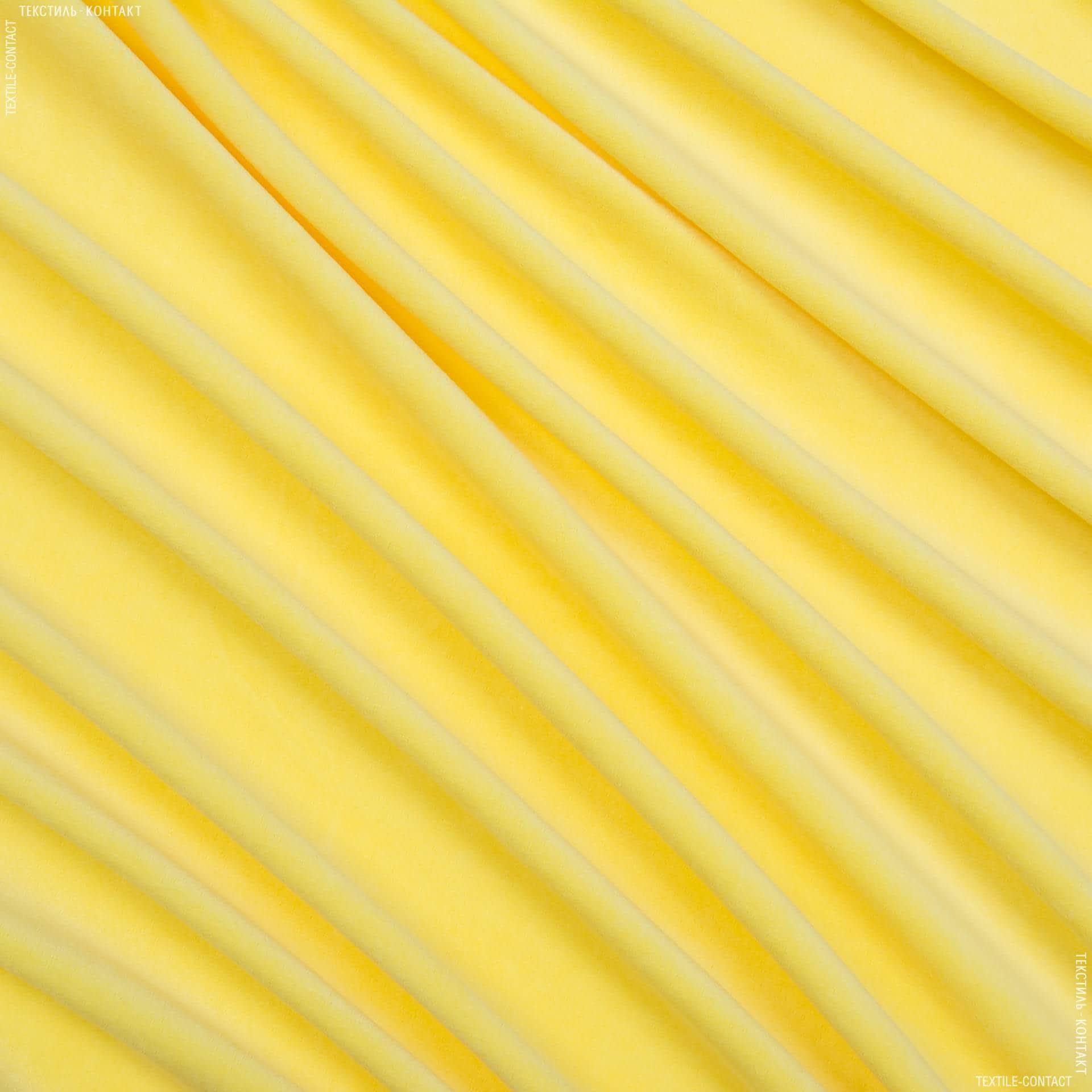 Ткани велюр/бархат - Велюр желток