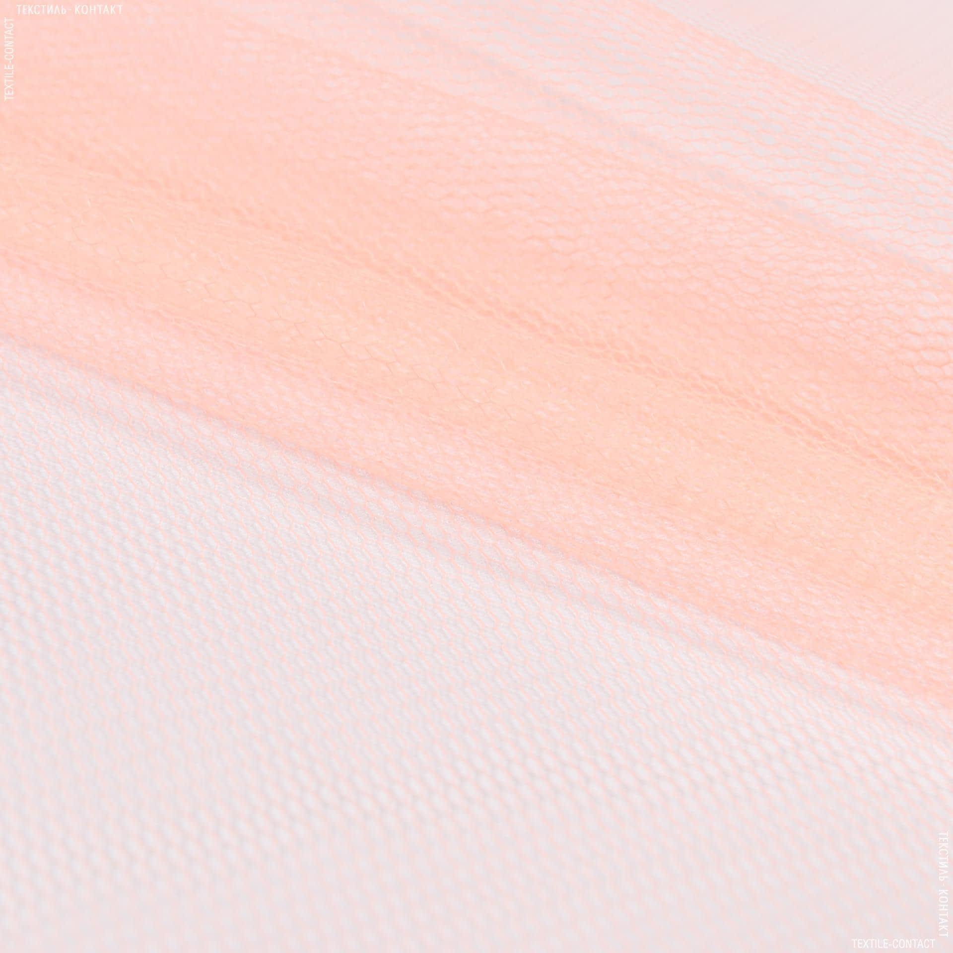 Ткани для блузок - Фатин жесткий абрикосовый