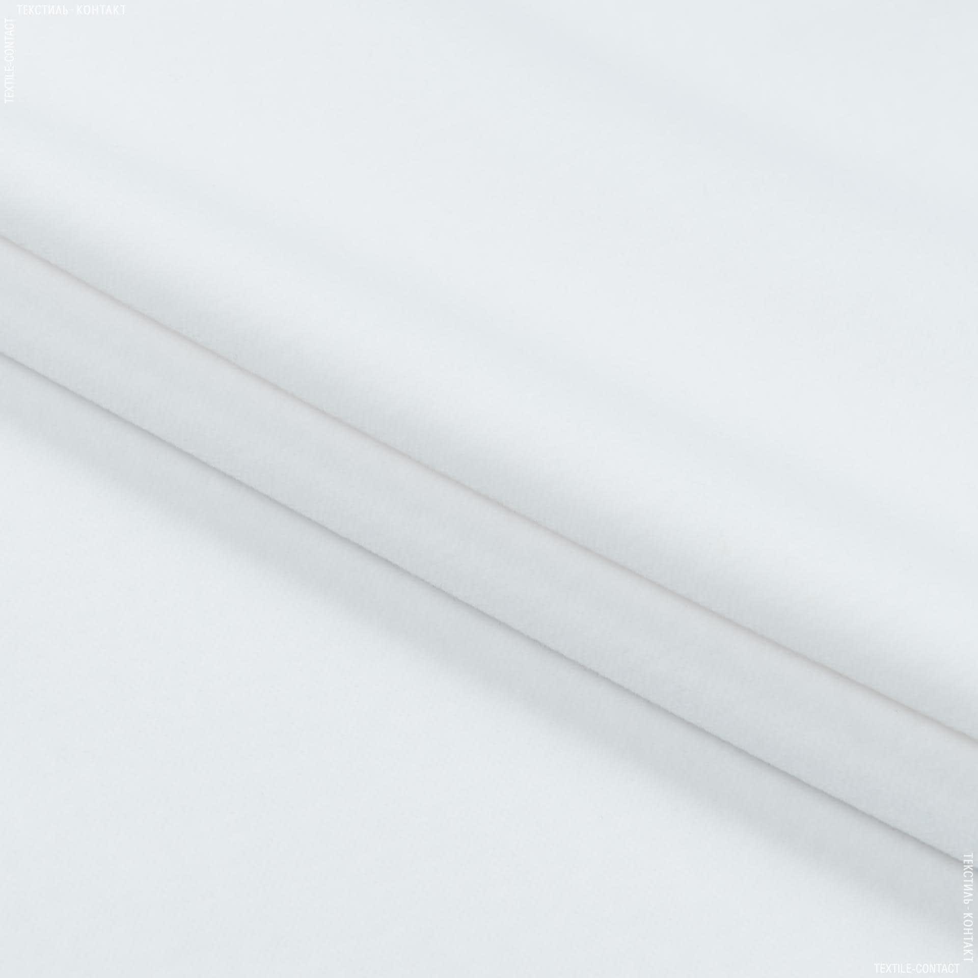 Ткани для мебели - Велюр  дерби/derbi белый сток