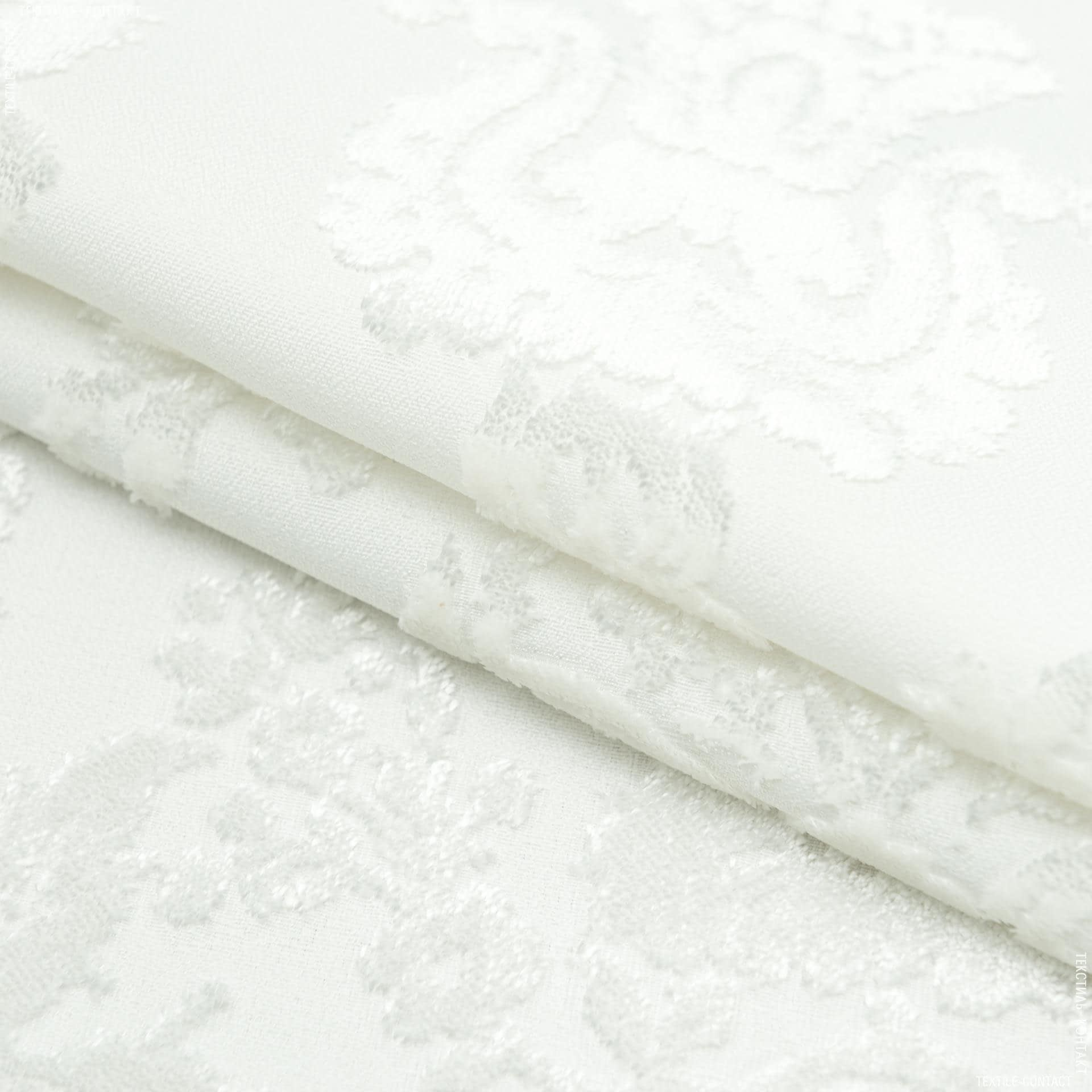 Тканини для меблів - Велюр виченца молочний