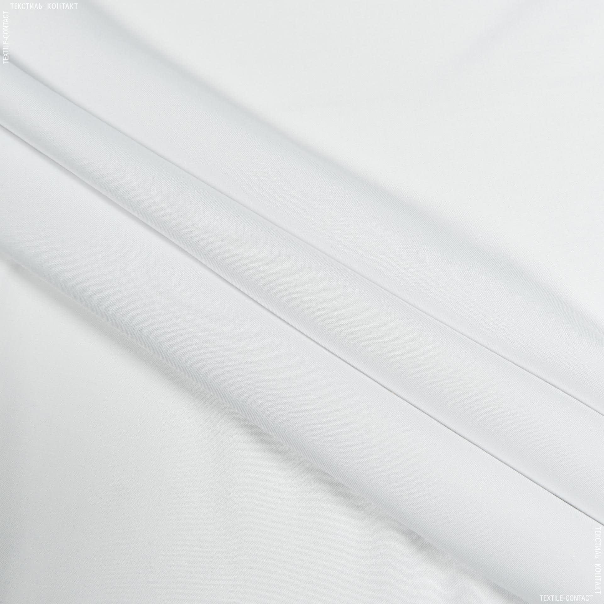 Ткани для детской одежды - Штапель фалма белый
