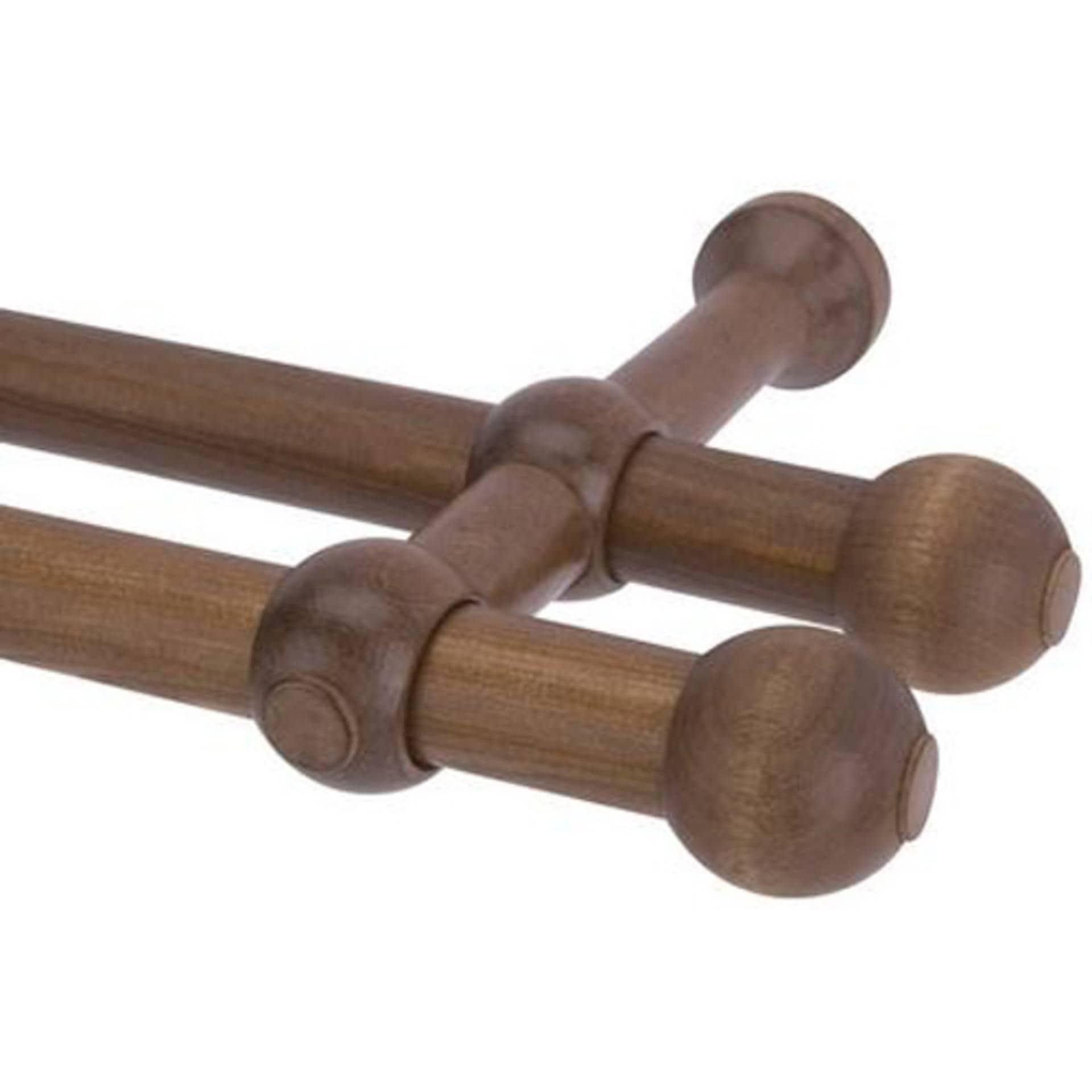 Тканини карнизи - Карниз дерев'яний прато нью ІІ дуб 25/25мм/300см
