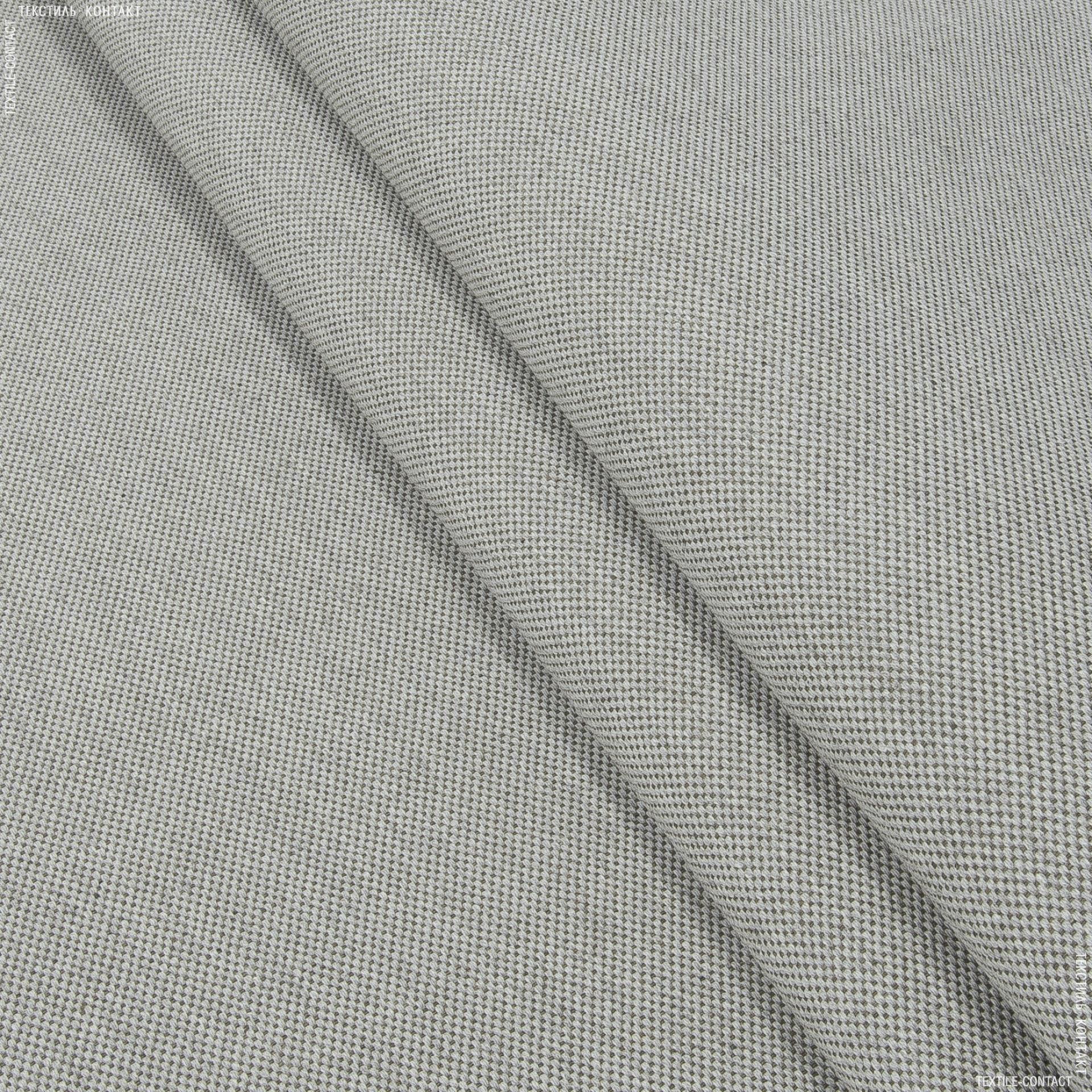 Ткани для маркиз - Декоративная ткань  оскар меланж св.серый,т.беж