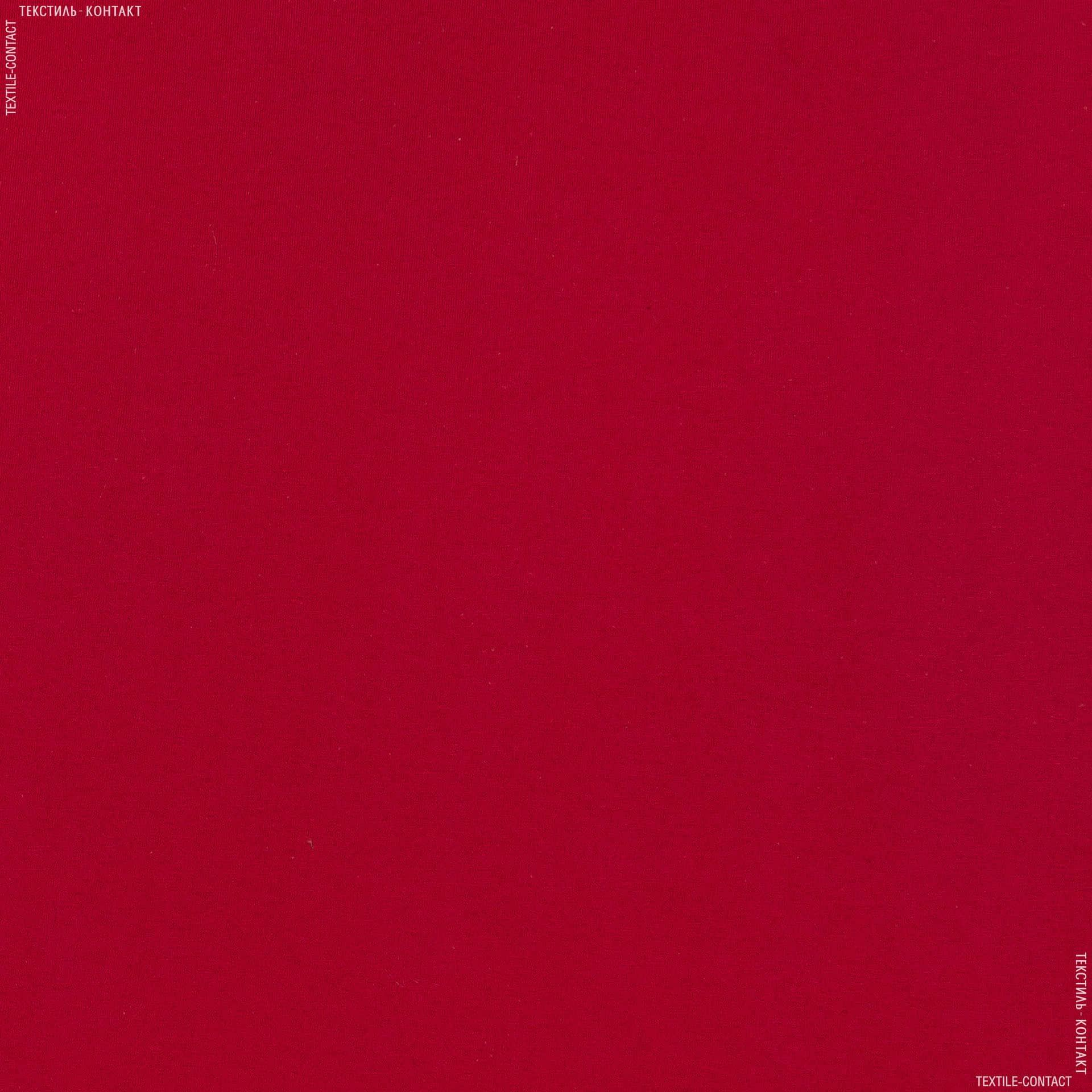Ткани для спортивной одежды - Кулирное полотно  100см х 2 красный