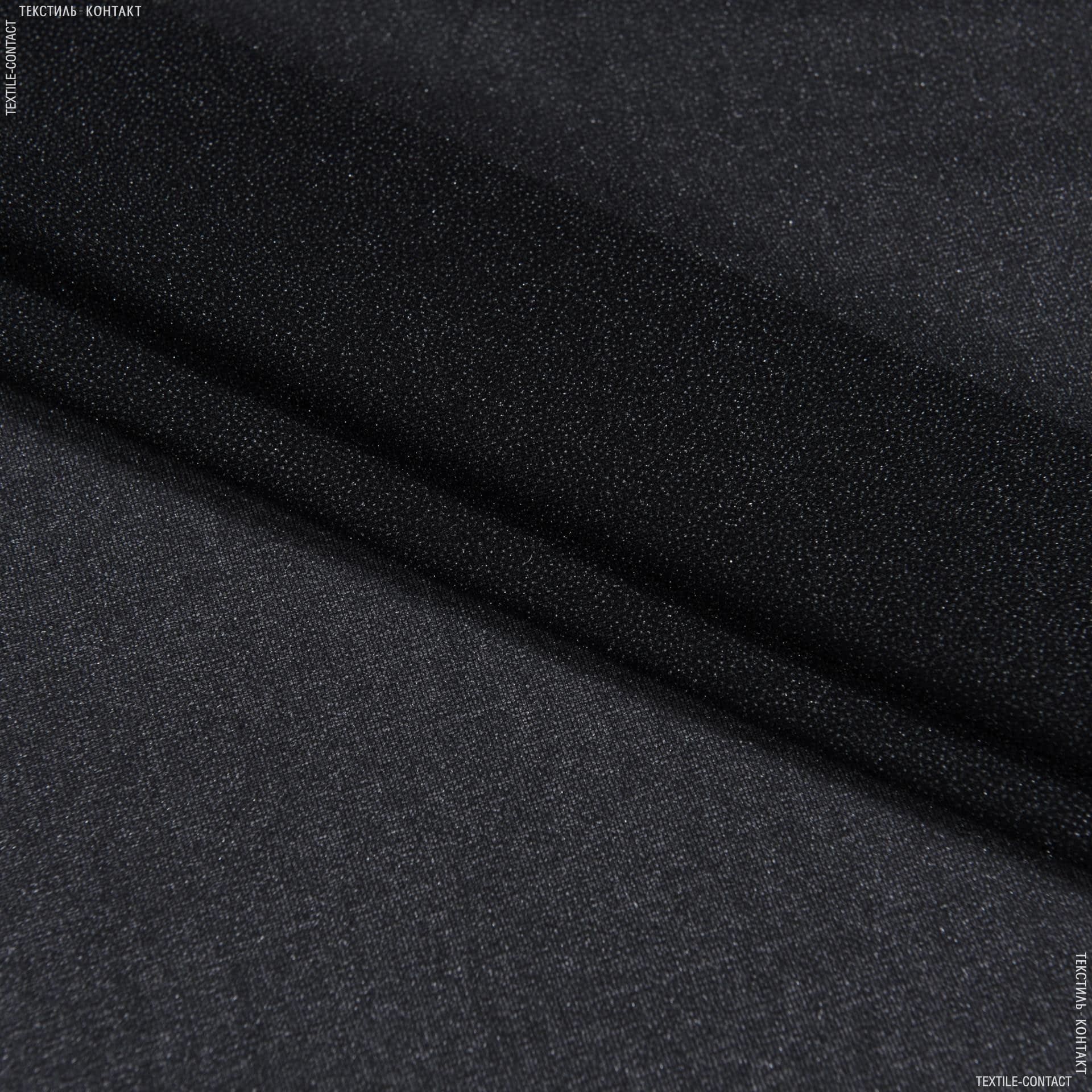 Ткани дублирин, флизелин - Дублирин стрейч 40г/м черный