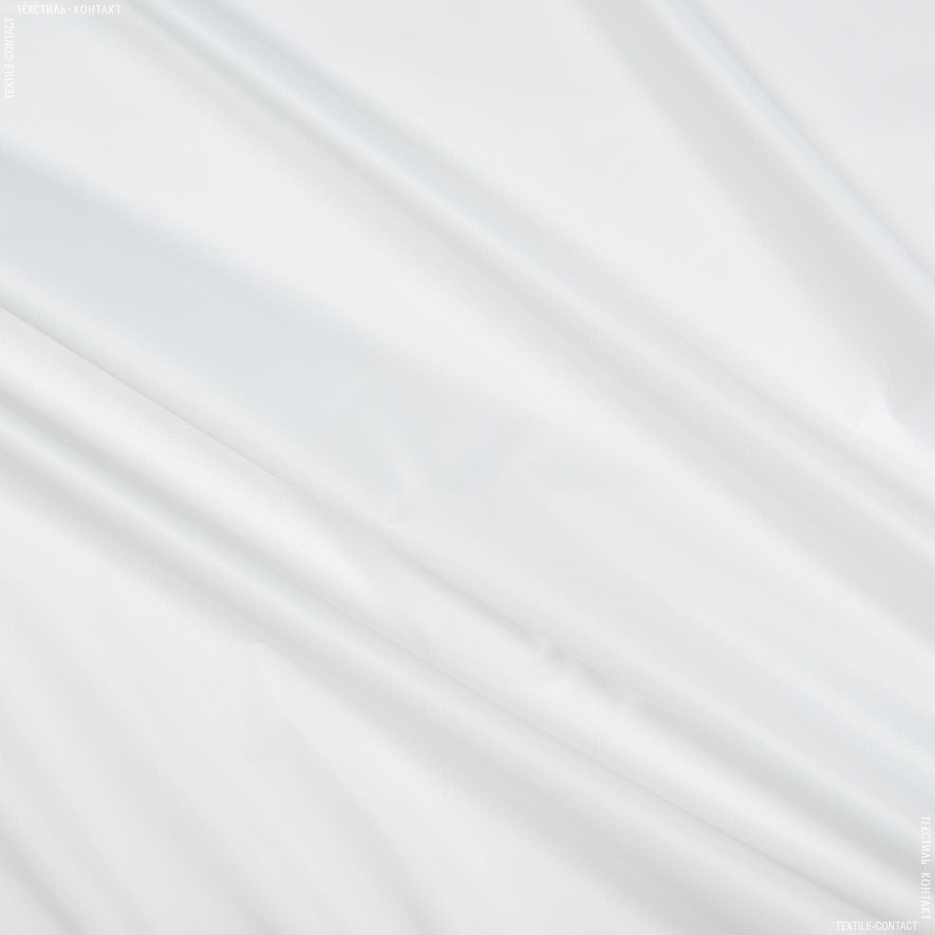 Ткани для тентов - Ткань прорезиненная  f белый