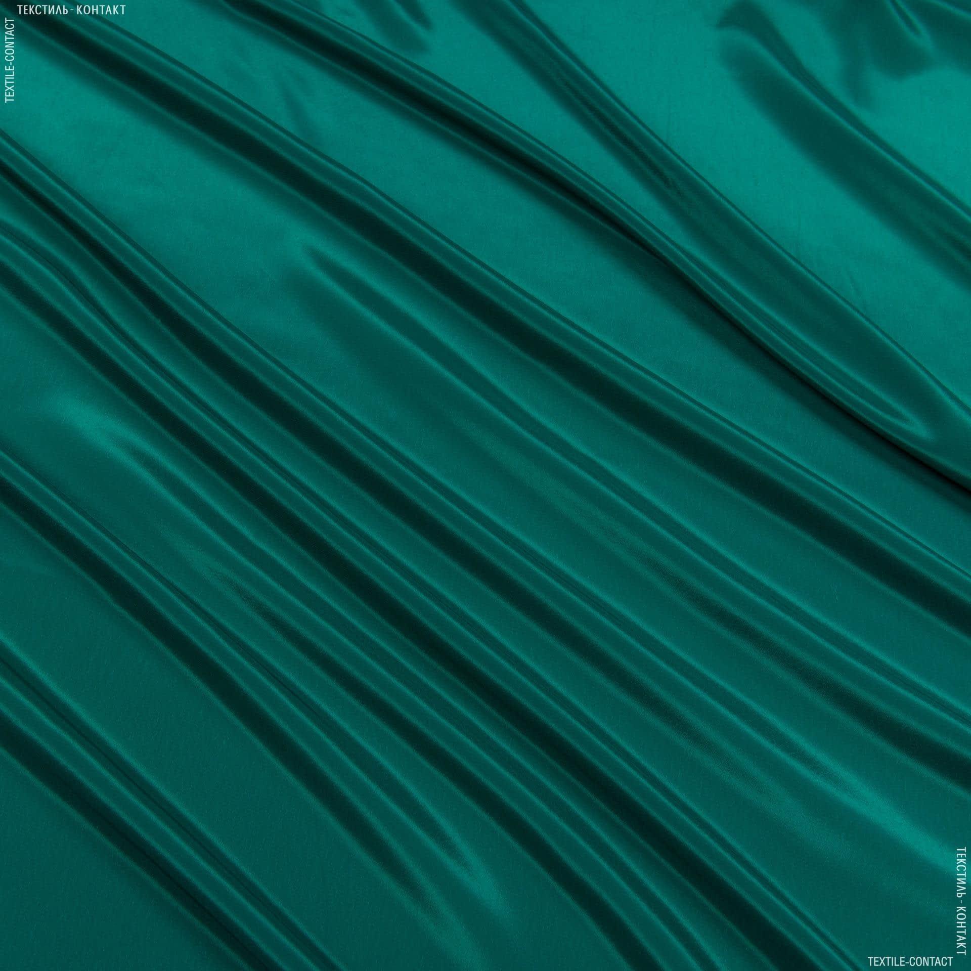 Ткани для платков и бандан - Креп кошибо темно-зеленый