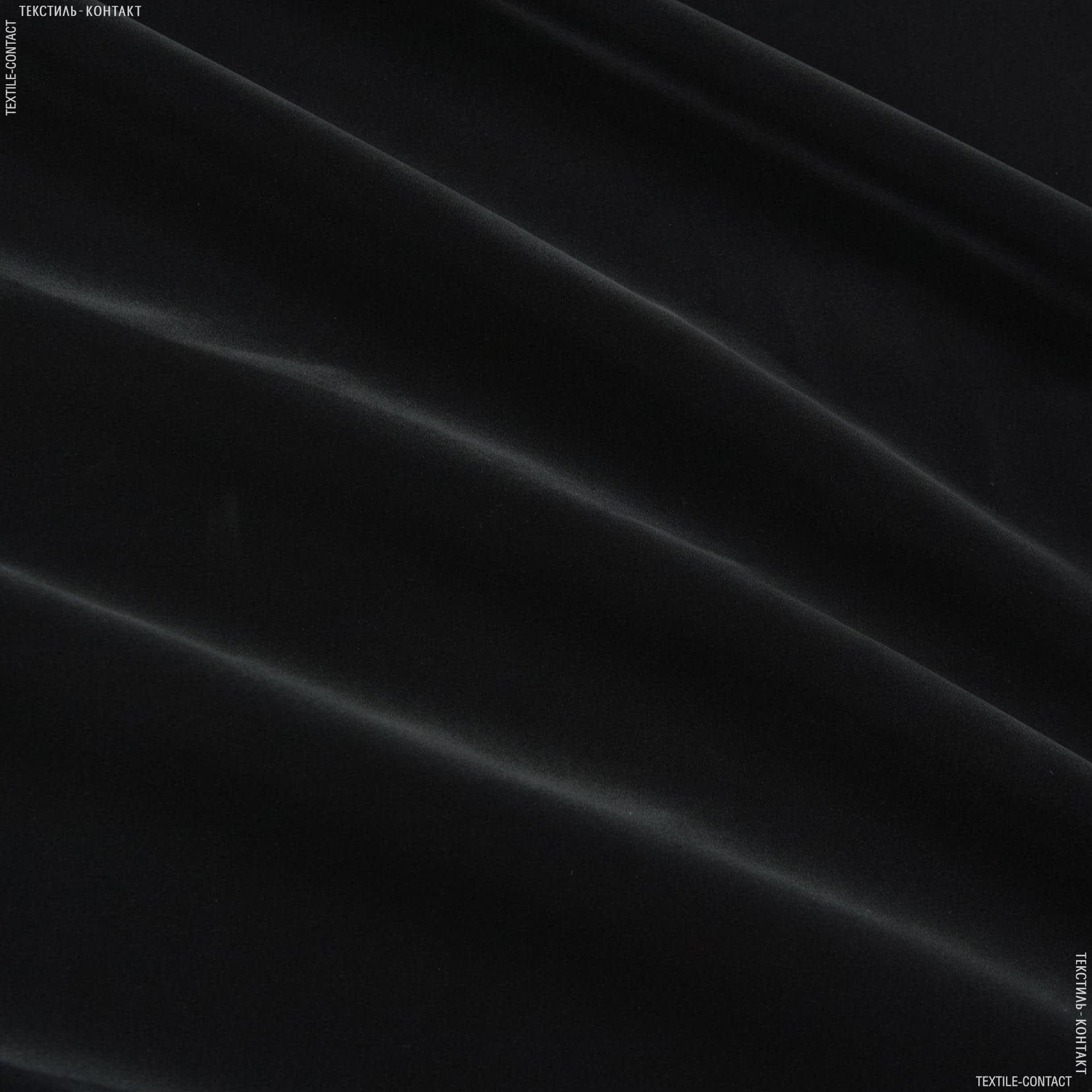 Тканини ритуальна тканина - Замша штучна чорний