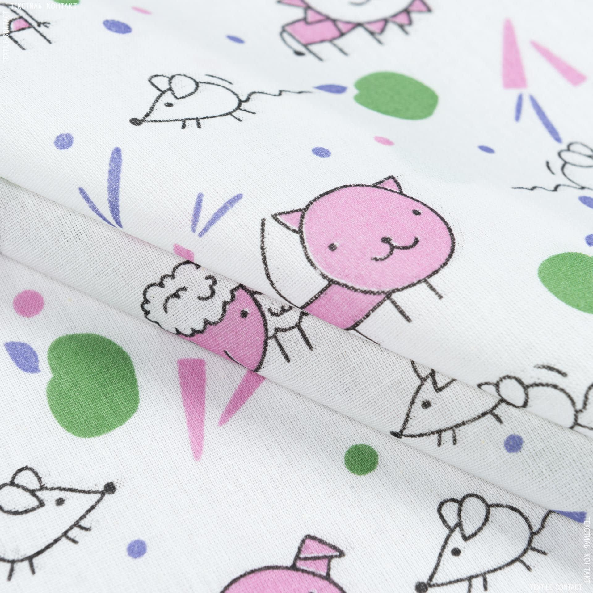 Ткани для детской одежды - Ситец ткч детский