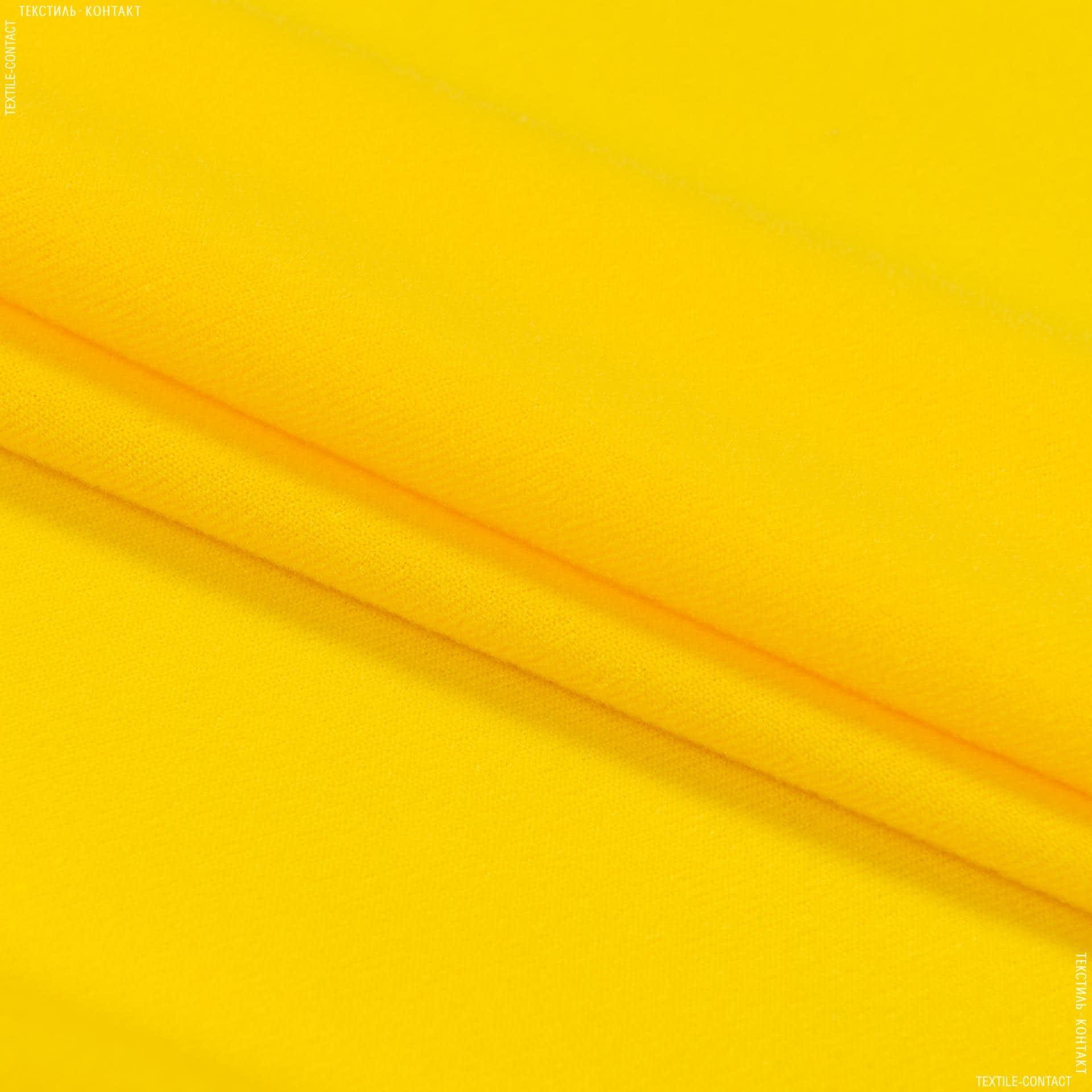 Тканини для м'яких іграшок - Трикотаж-липучка жовтий
