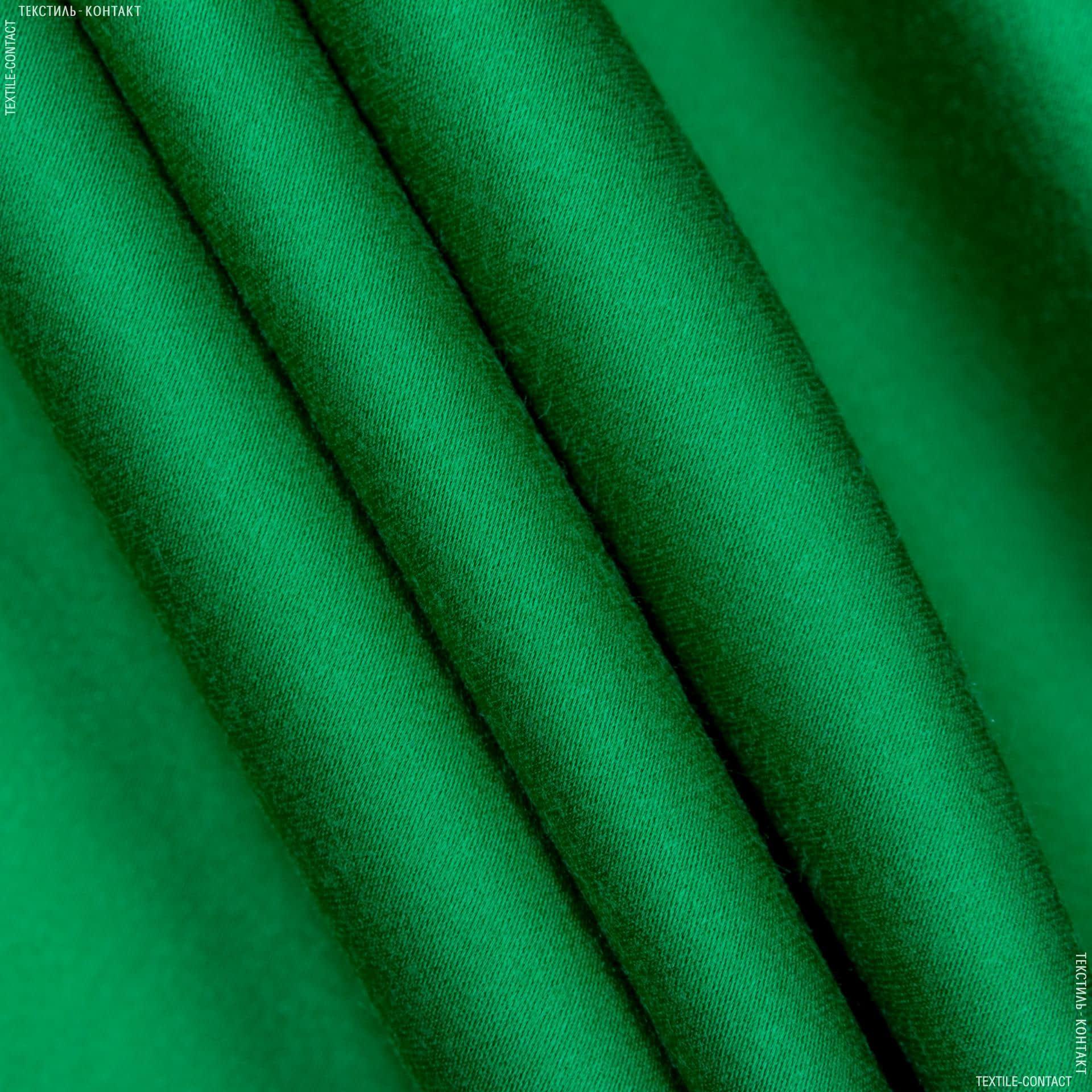 Тканини для костюмів - Костюмний сатин віскозний темно-оливковий