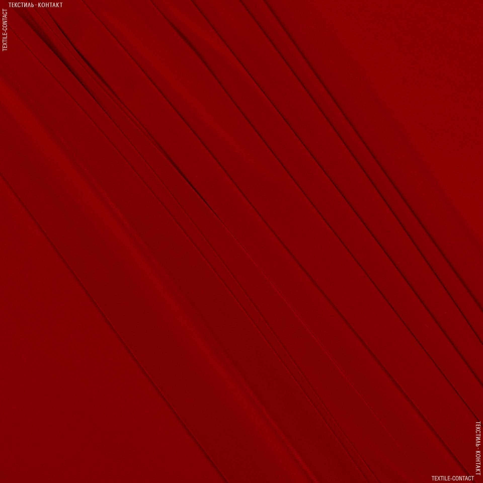 Тканини для суконь - Трикотаж жасмін червоний