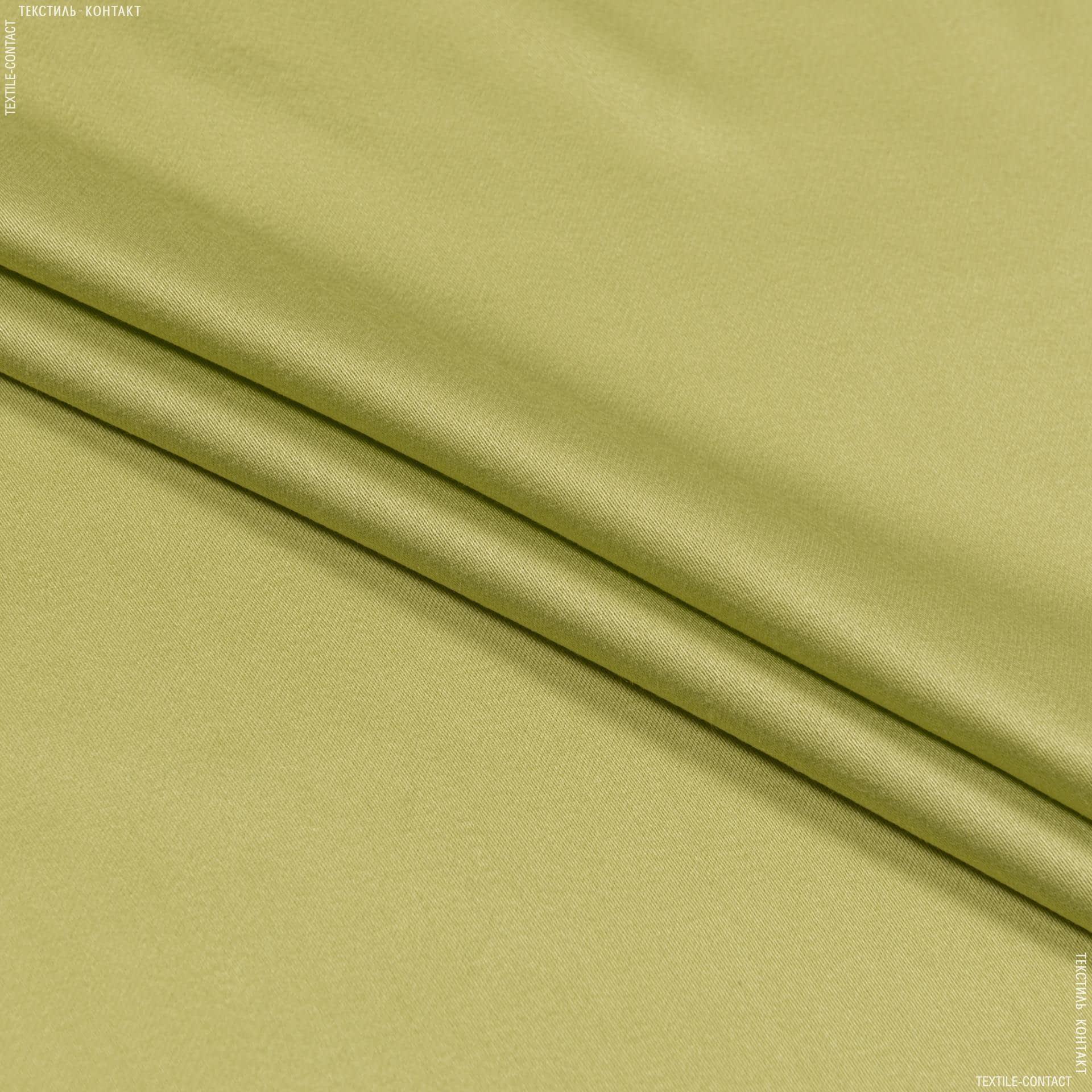 Тканини для штанів - Костюмний сатин світло-фісташка