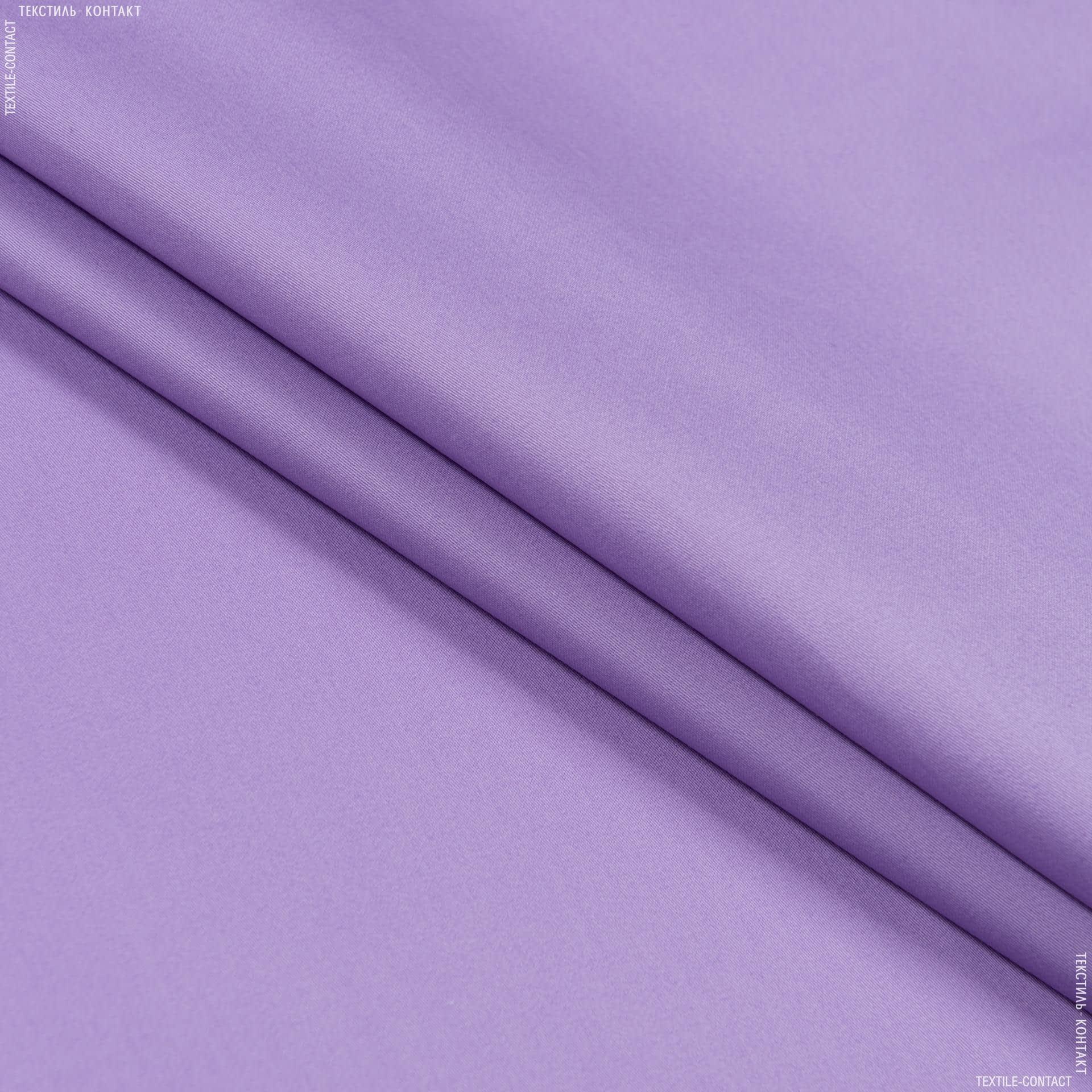Тканини для суконь - Сорочкова бергамо сатен темно-бузковий