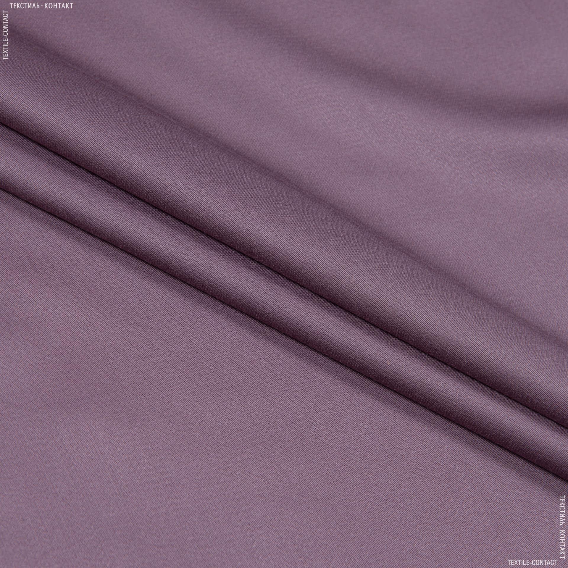 Тканини для костюмів - Костюмний сатин темно-фрезовий