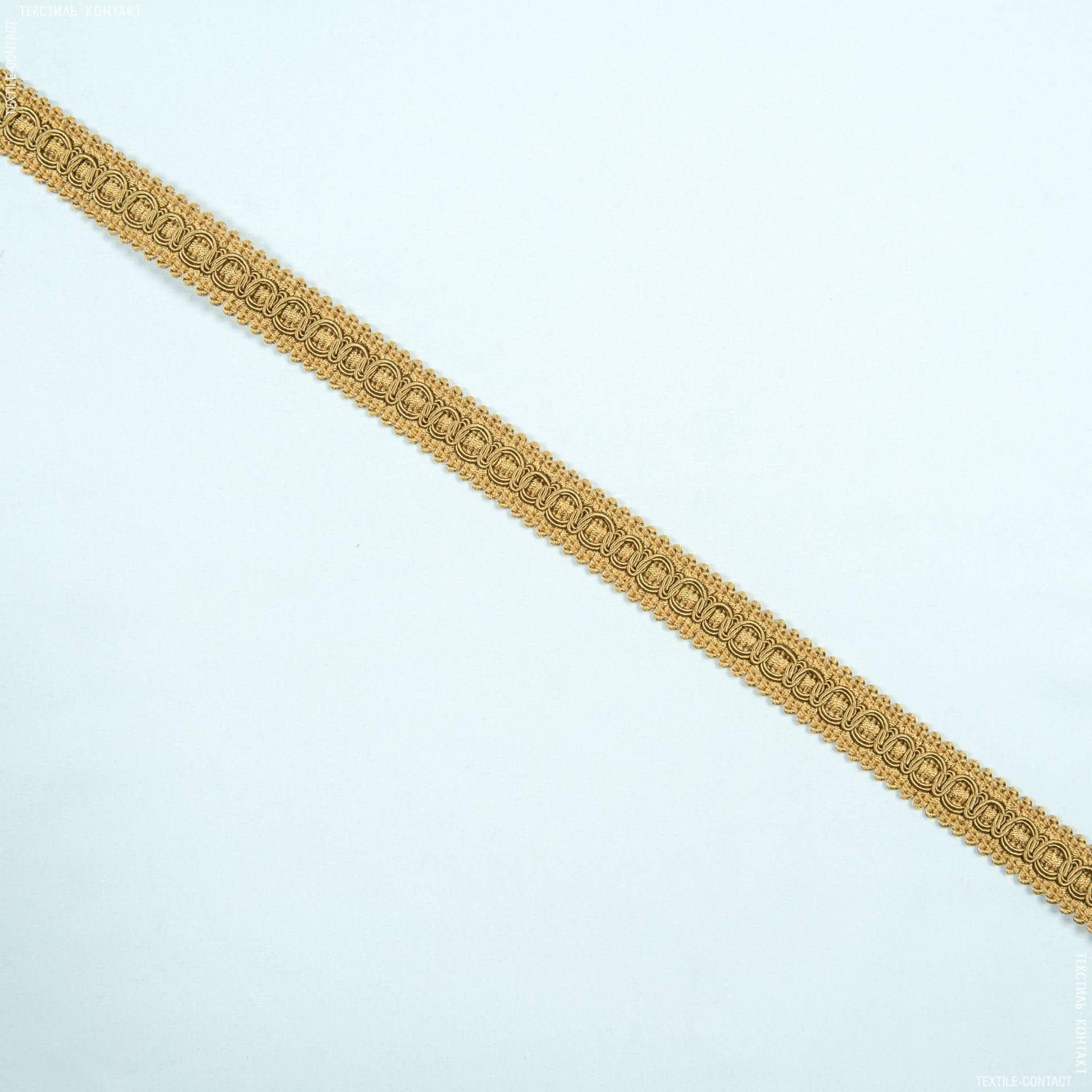 Ткани фурнитура для дома - Тесьма окант. Солар, т.золото