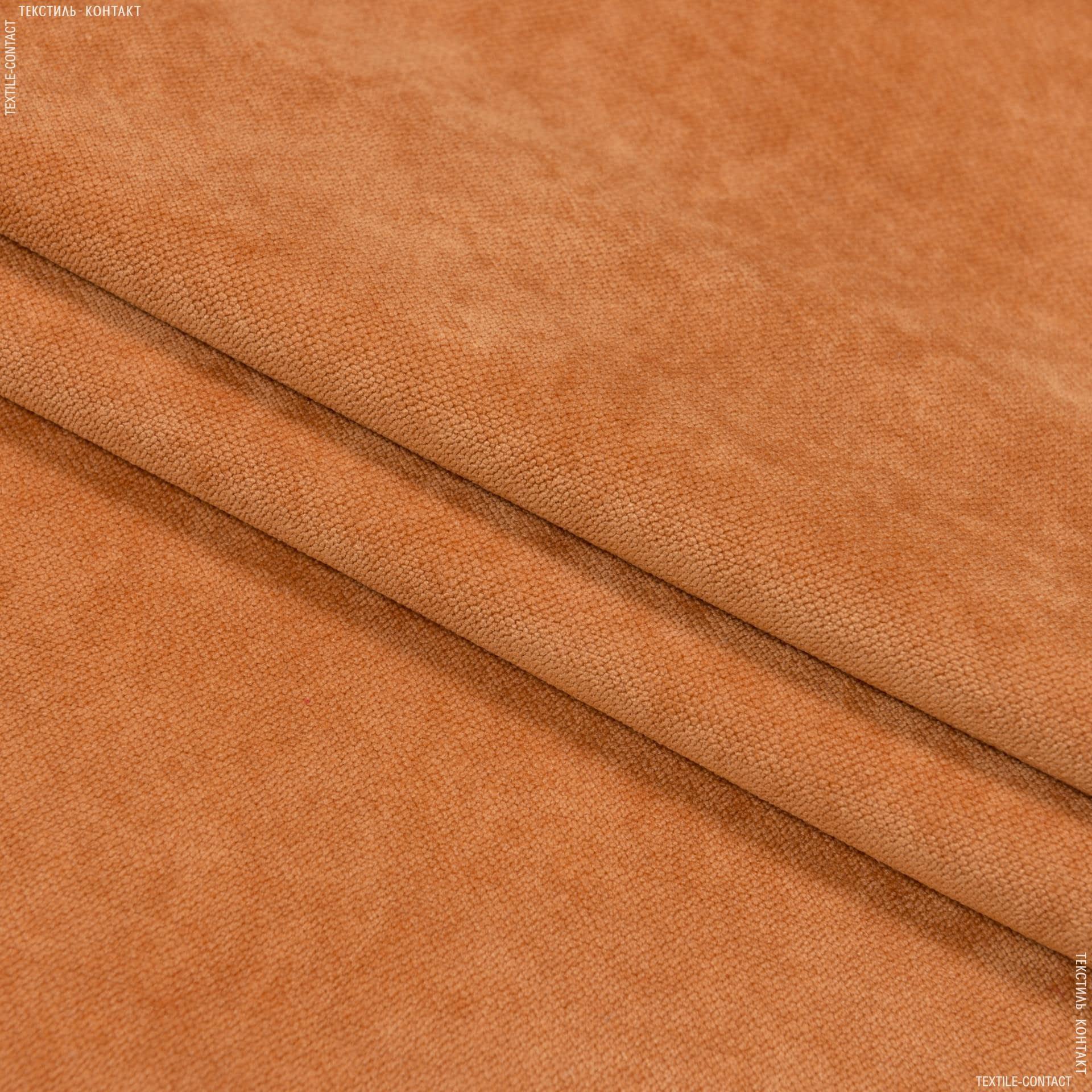 Тканини для меблів - Велюр будапешт/budapest охра