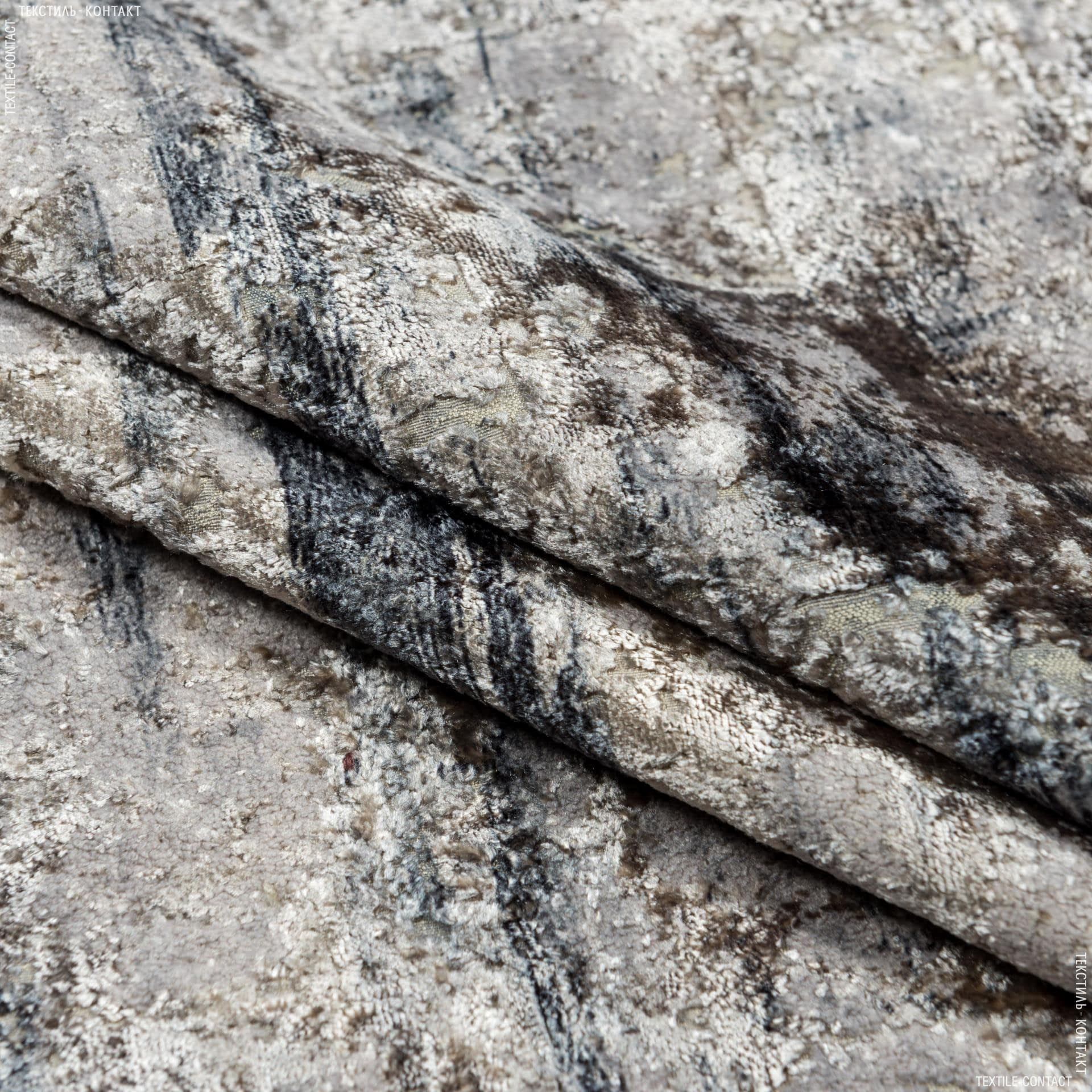 Ткани для мебели - Велюр   генова/genova /беж,серый,графит