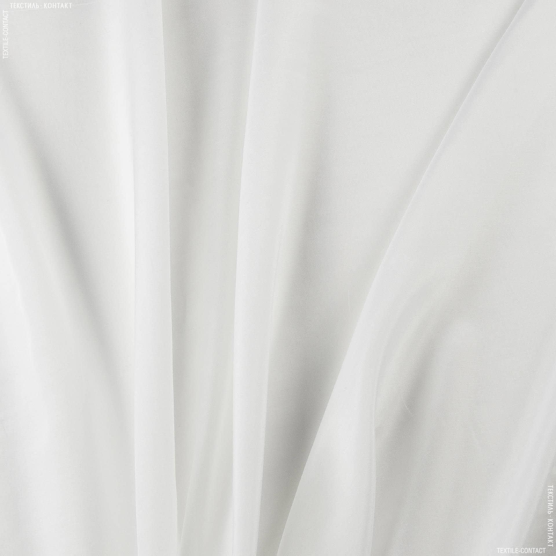 Ткани для детской одежды - Батист-шелк белый