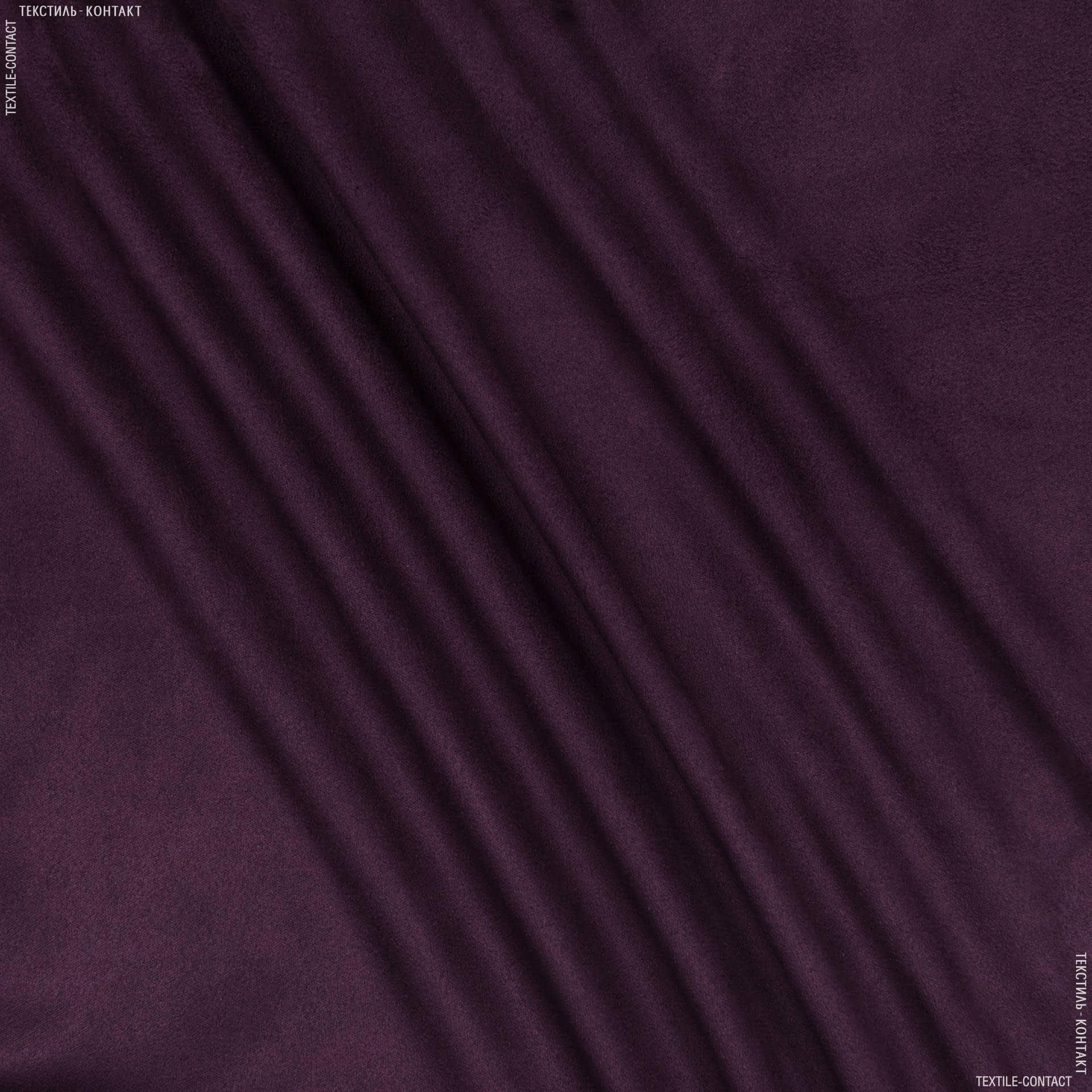 Тканини для штанів - Замша стрейч двостороння фіолетовий