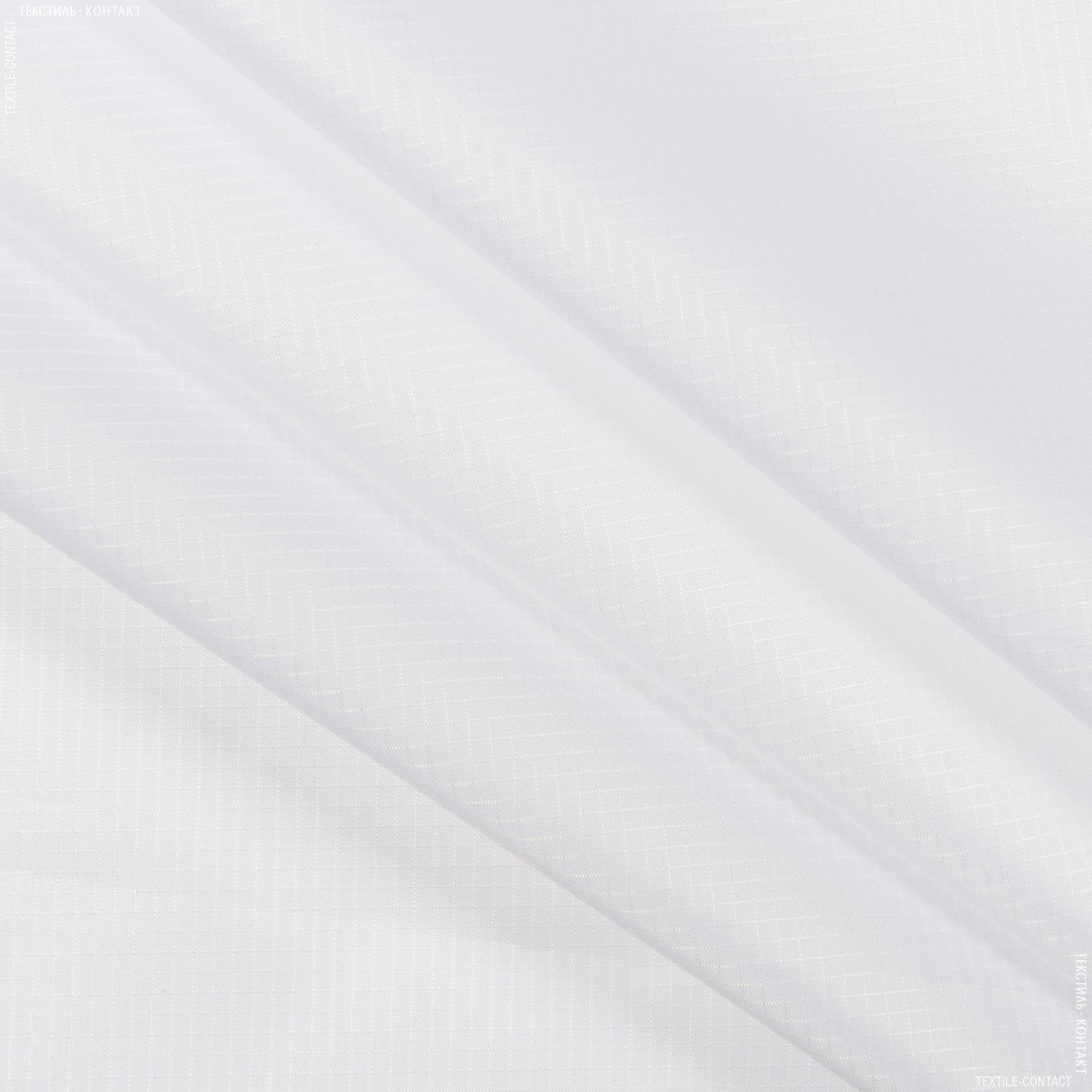 Ткани для верхней одежды - Рип-стоп курточный белый