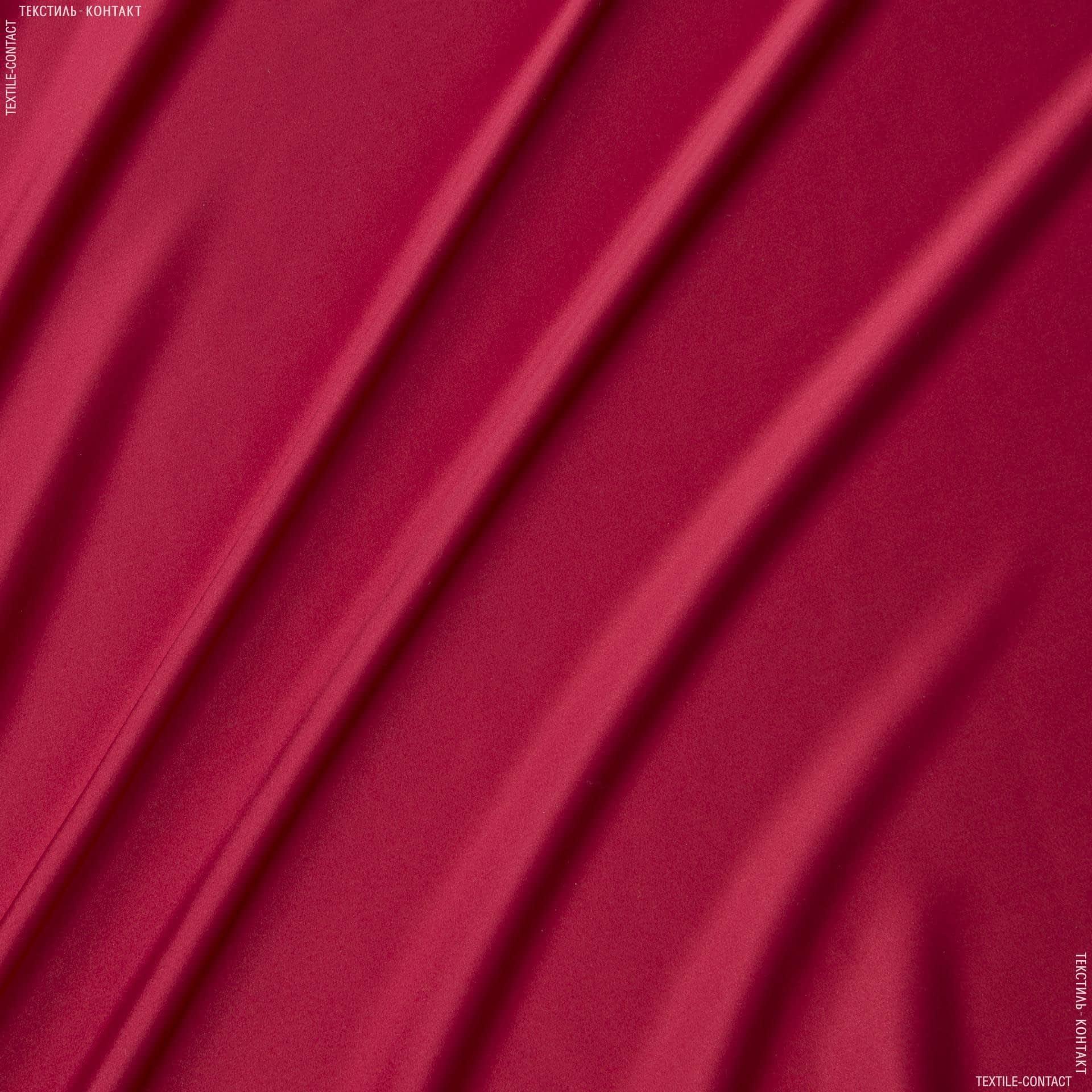 Ткани для белья - Атлас шелк натуральный  стрейч красный