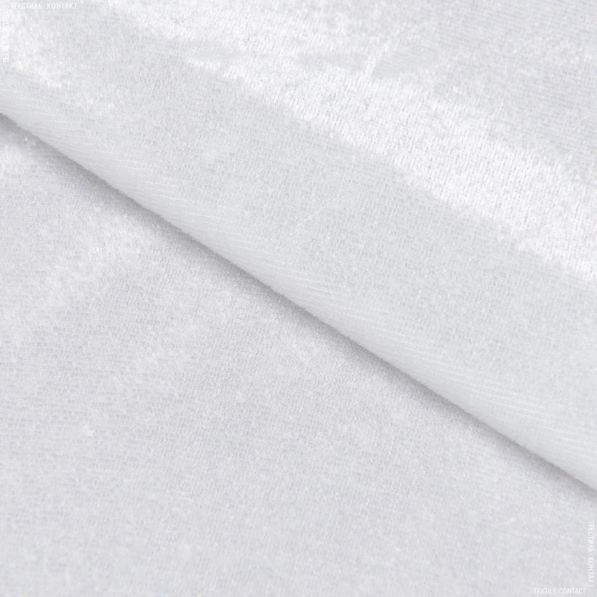Тканини для суконь - Велюр стрейч світло-молочний