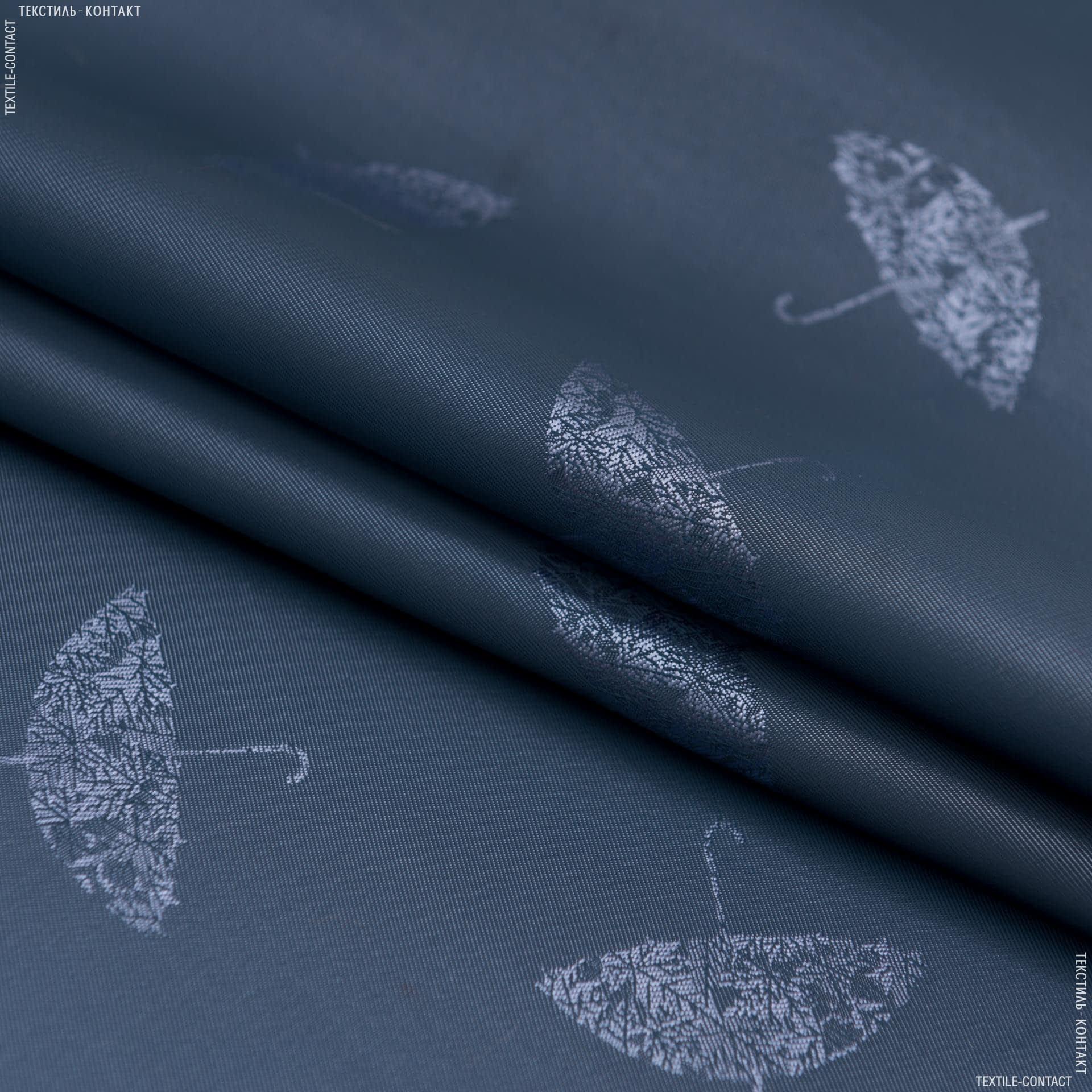 Тканини підкладкова тканина - Підкладковий жакард індіго