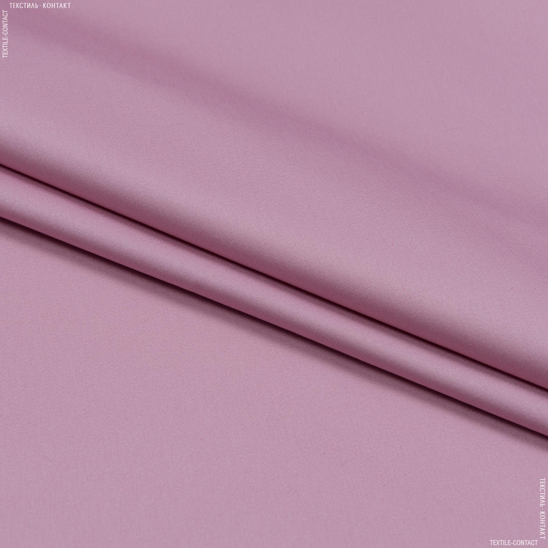 Тканини для штанів - Котон мод сатин рожевий