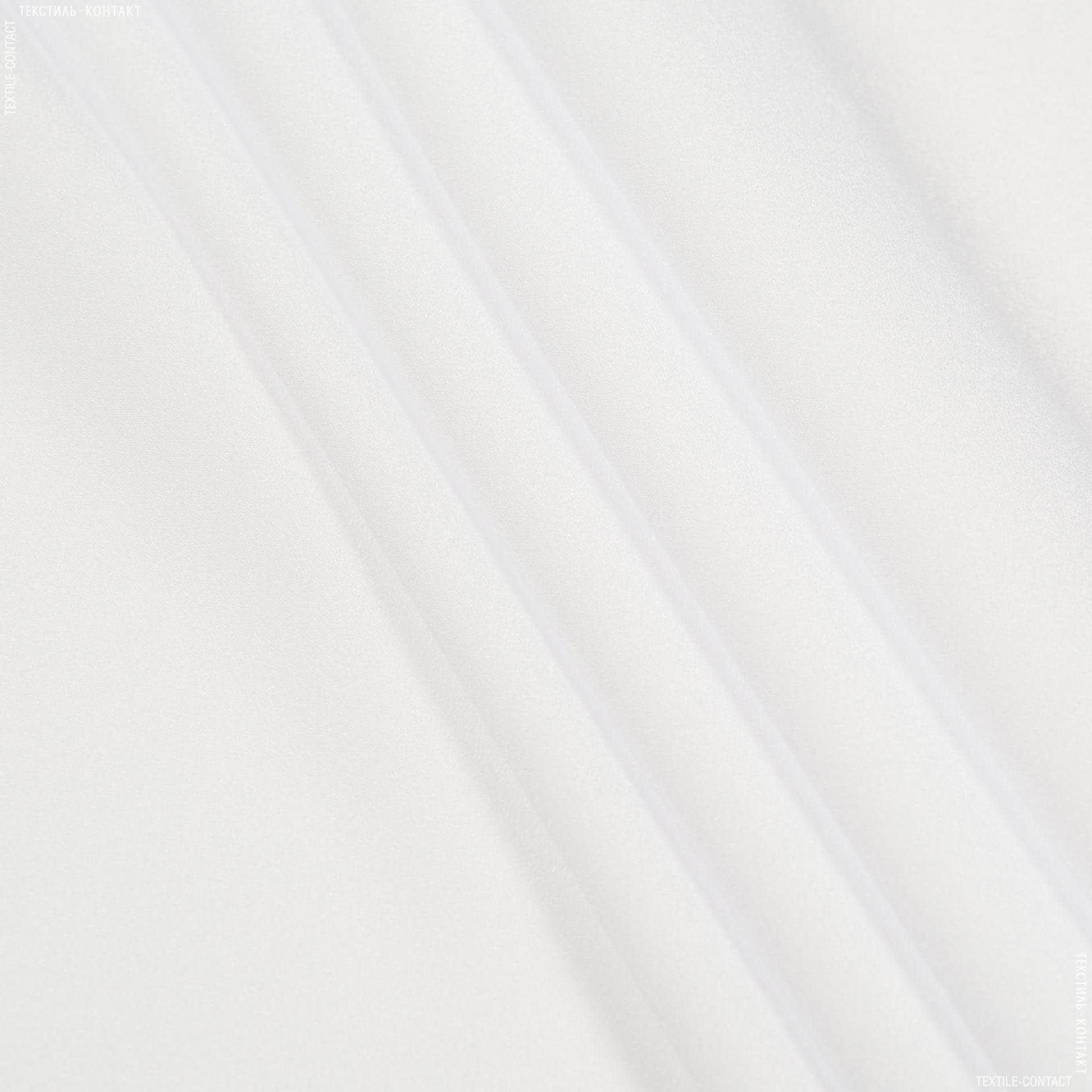 Ткани для платков и бандан - Крепдешин белый