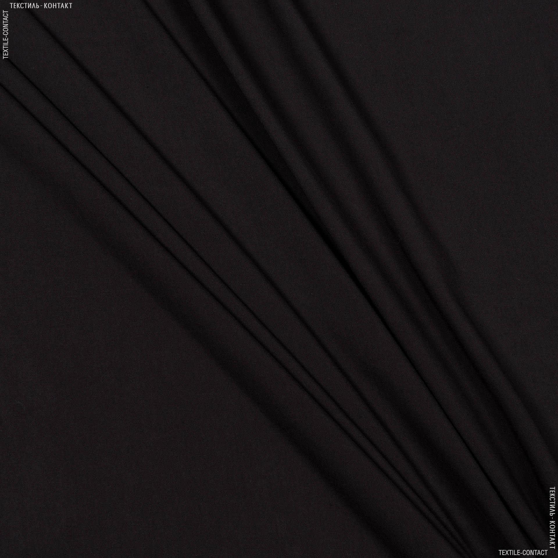 Ткани для платьев - Штапель фалма темно-коричневый